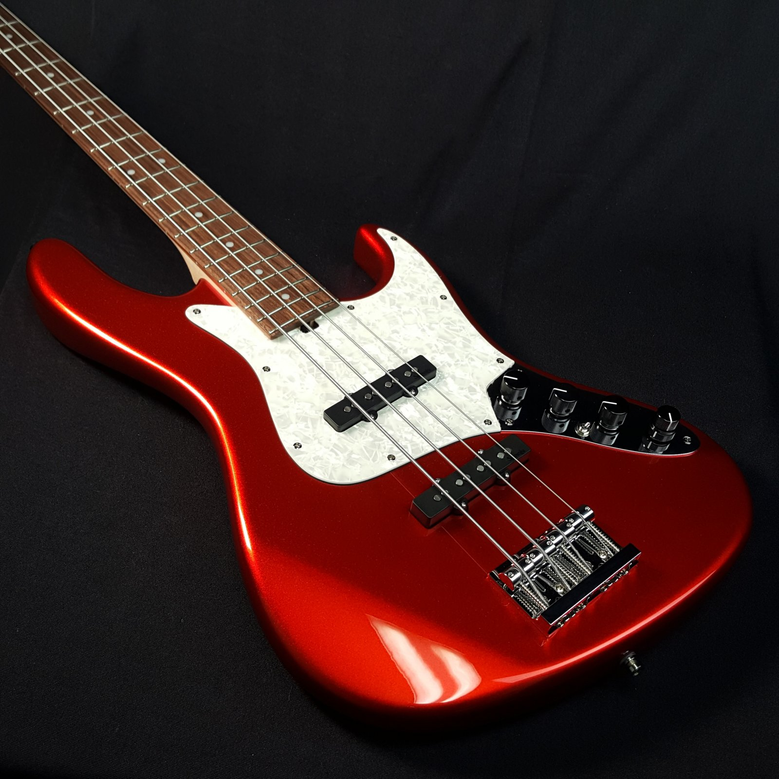 Sadowsky Will Lee Metro Line German 4 String Bass Candy Apple with Bag