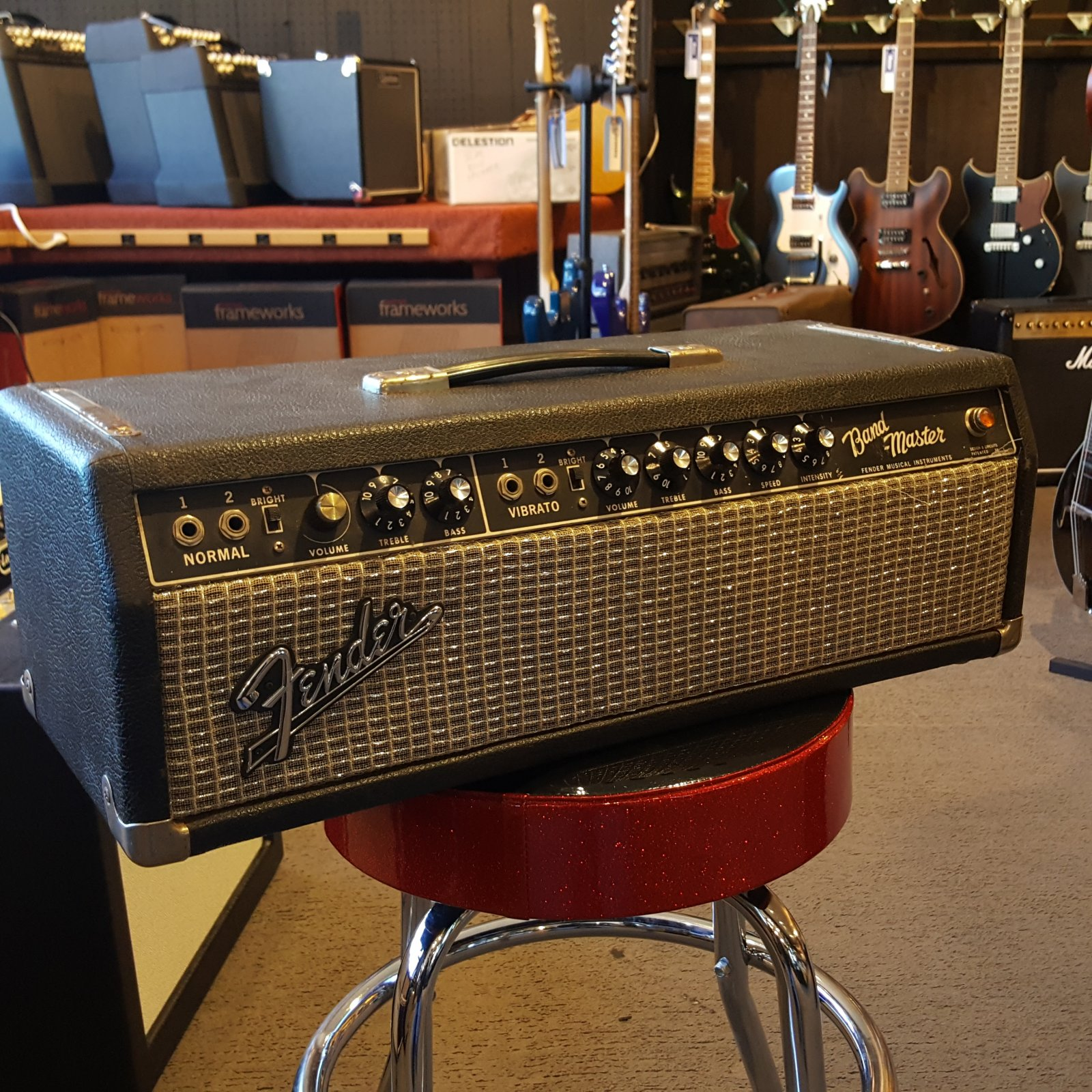 Used 1967 Fender Bandmaster Guitar Head