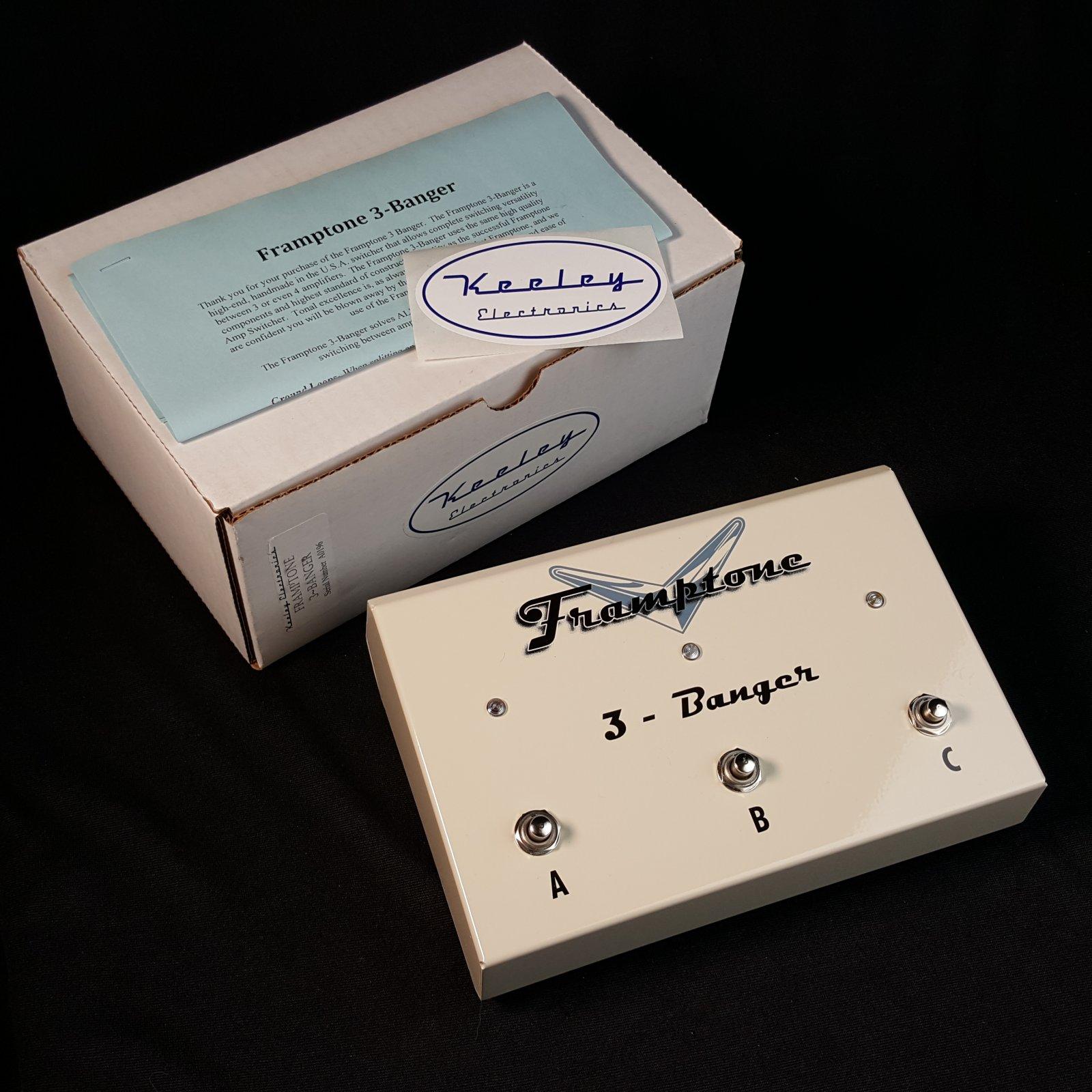 Used Keeley Electronics Framptone 3-Banger Amplifier Selector