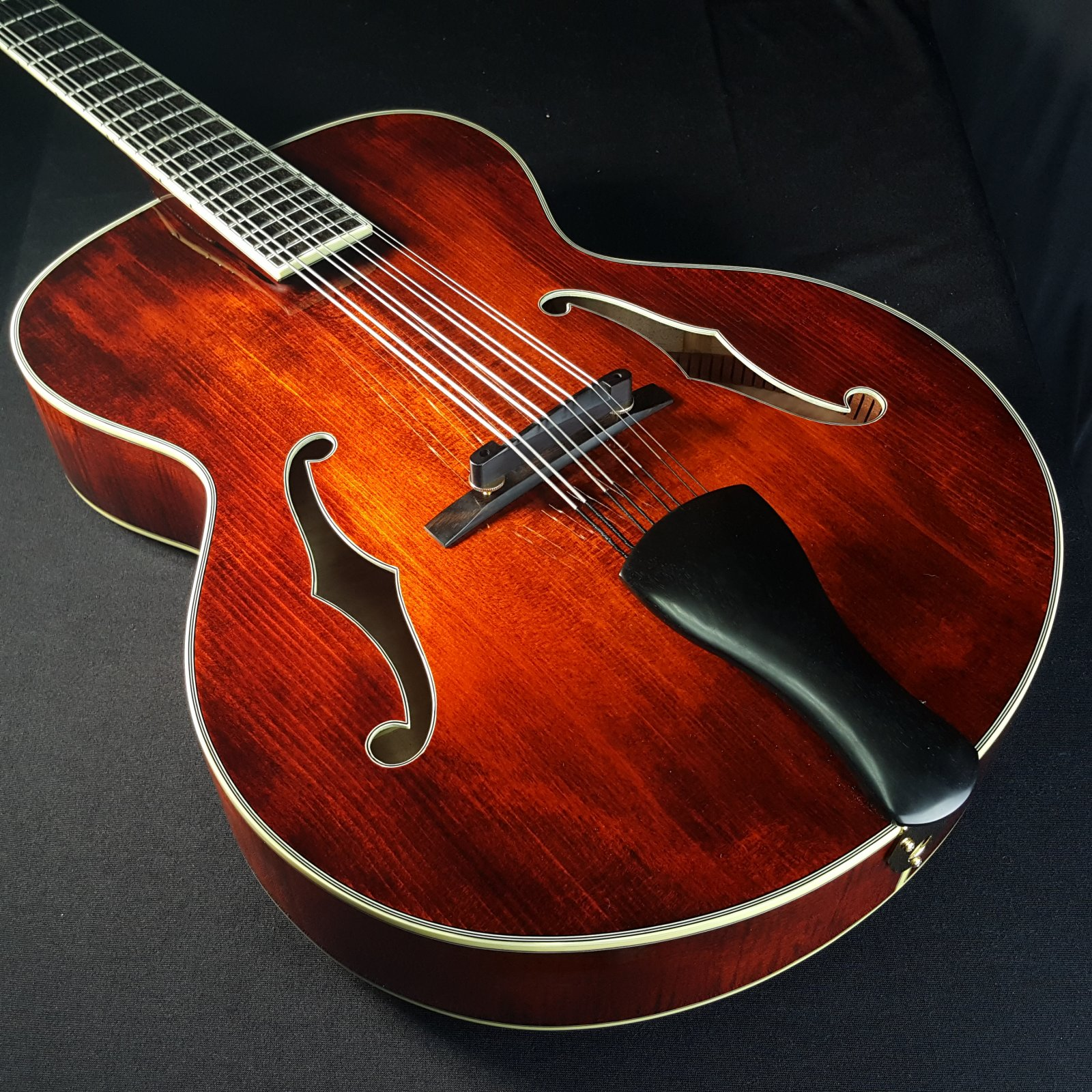 Used Eastman MDC805 Mandocello F Hole with Original Case