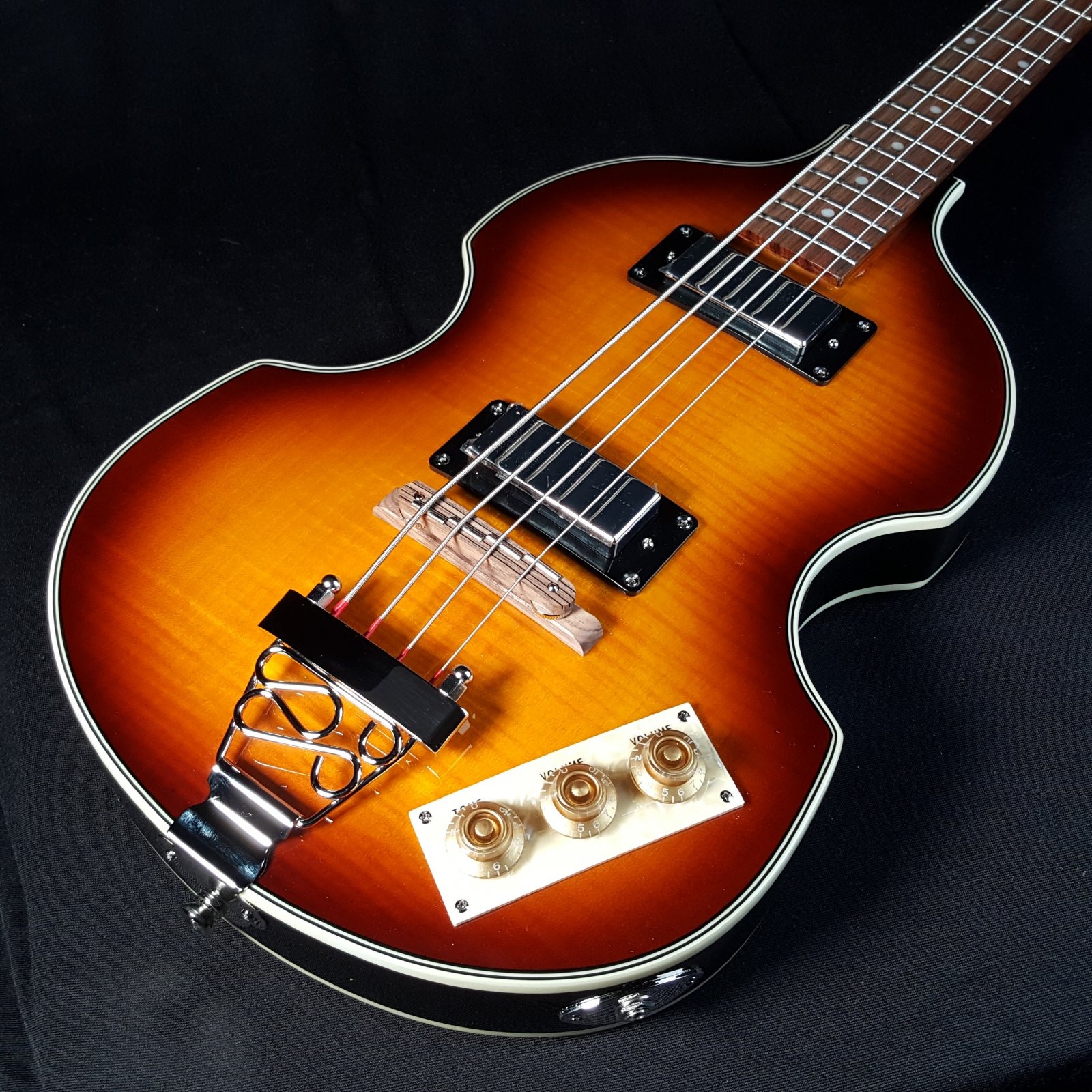 Epiphone Viola 4 String Semi Hollow Sunburst Bass