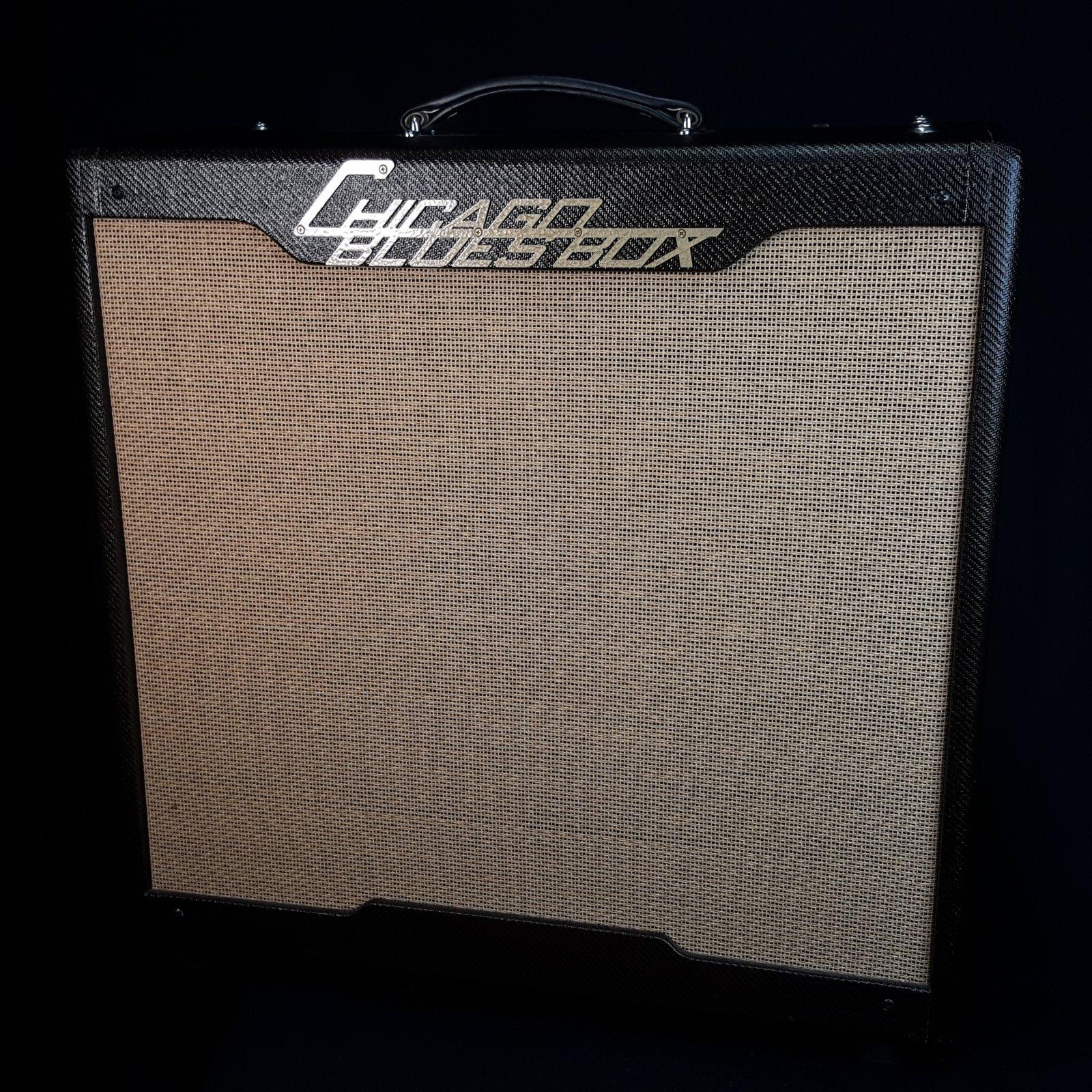 Chicago Blues Box Butler Custom Buddy Guy 4x10 Tube guitar combo amplifier w/ Cover