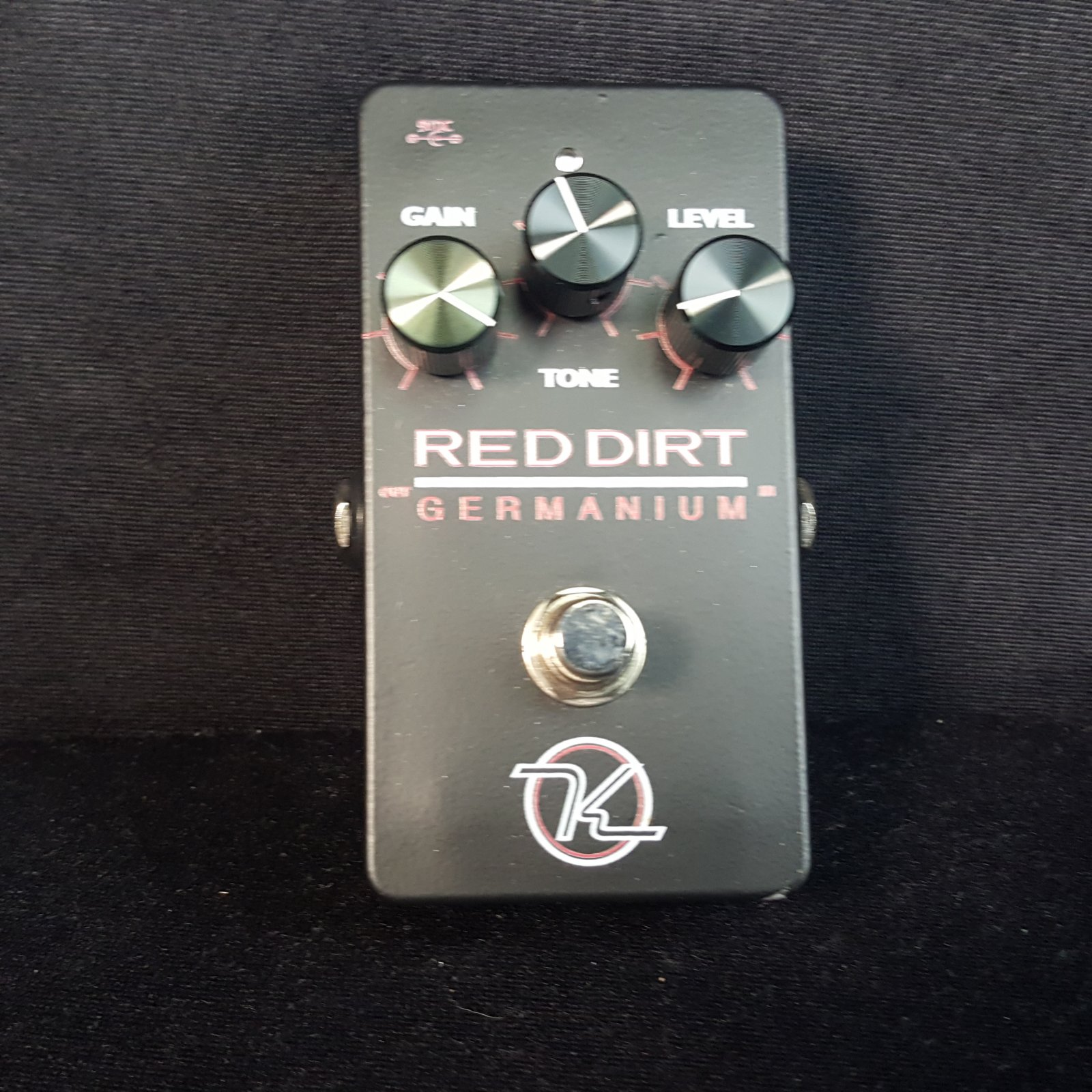 USED Keeley Electronics Red Dirt Germanium Overdrive Pedal