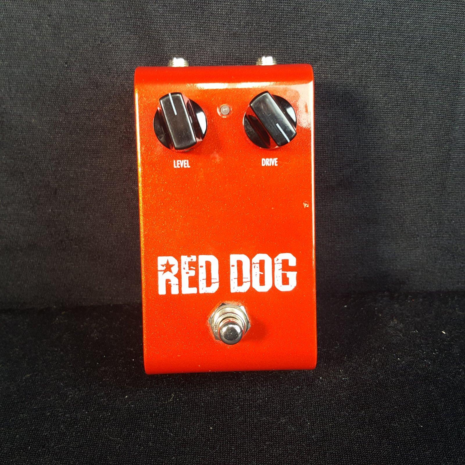 USED Rockbox Red Dog Distortion Pedal