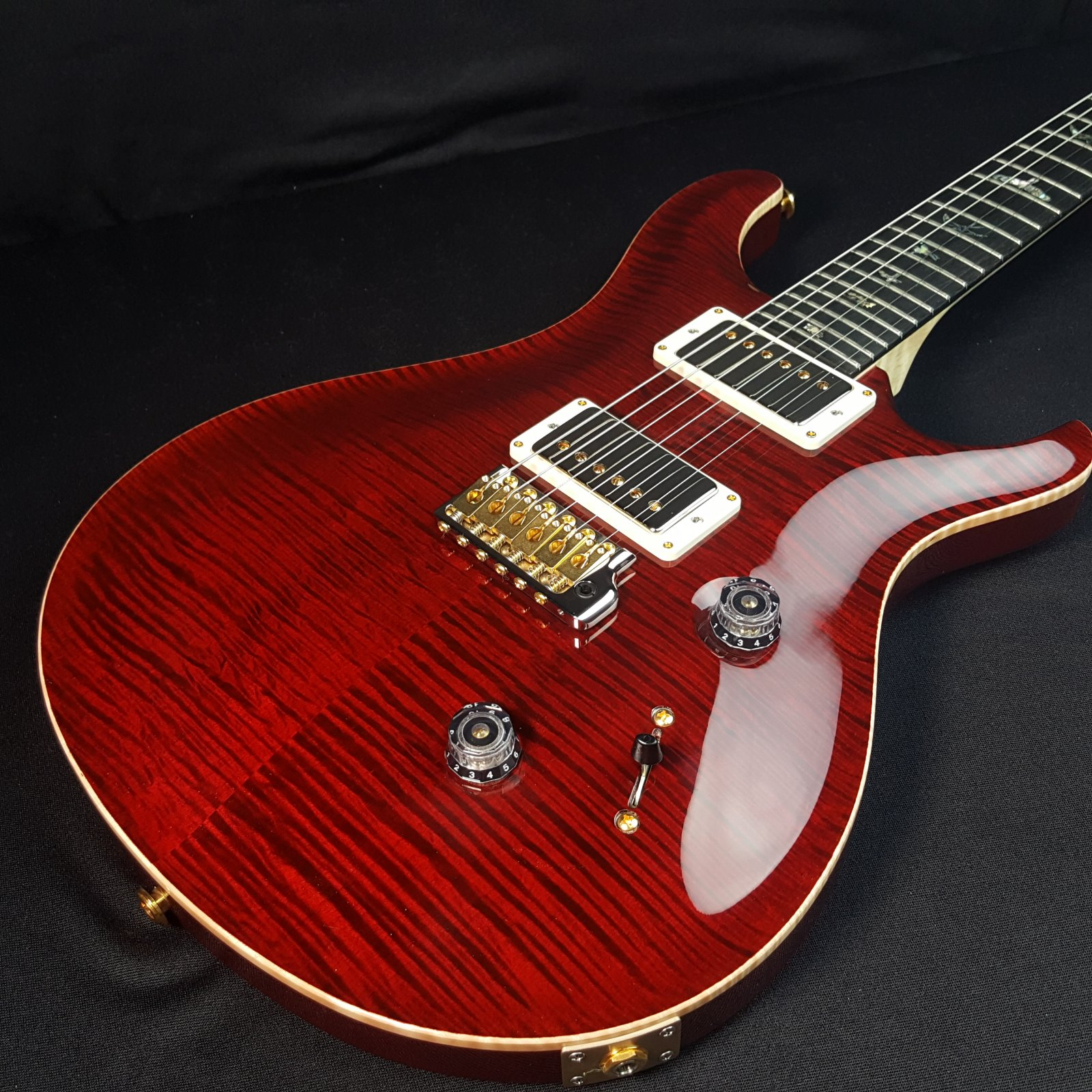 Paul Reed Smith PRS Custom 24 Artist Package Black Cherry Hybrid