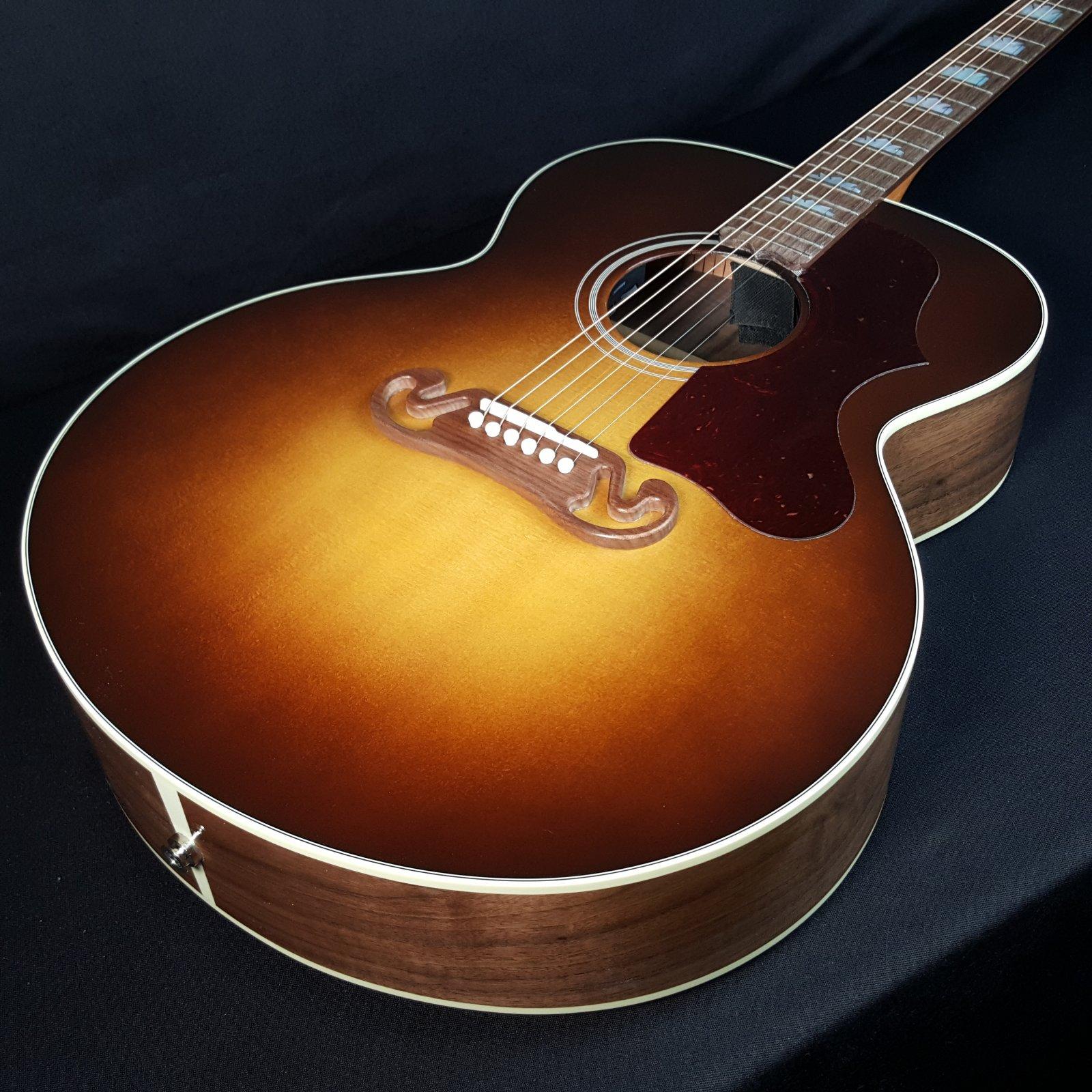 Gibson SJ-200 Studio Walnut Burst Jumbo Acoustic Electric Guitar