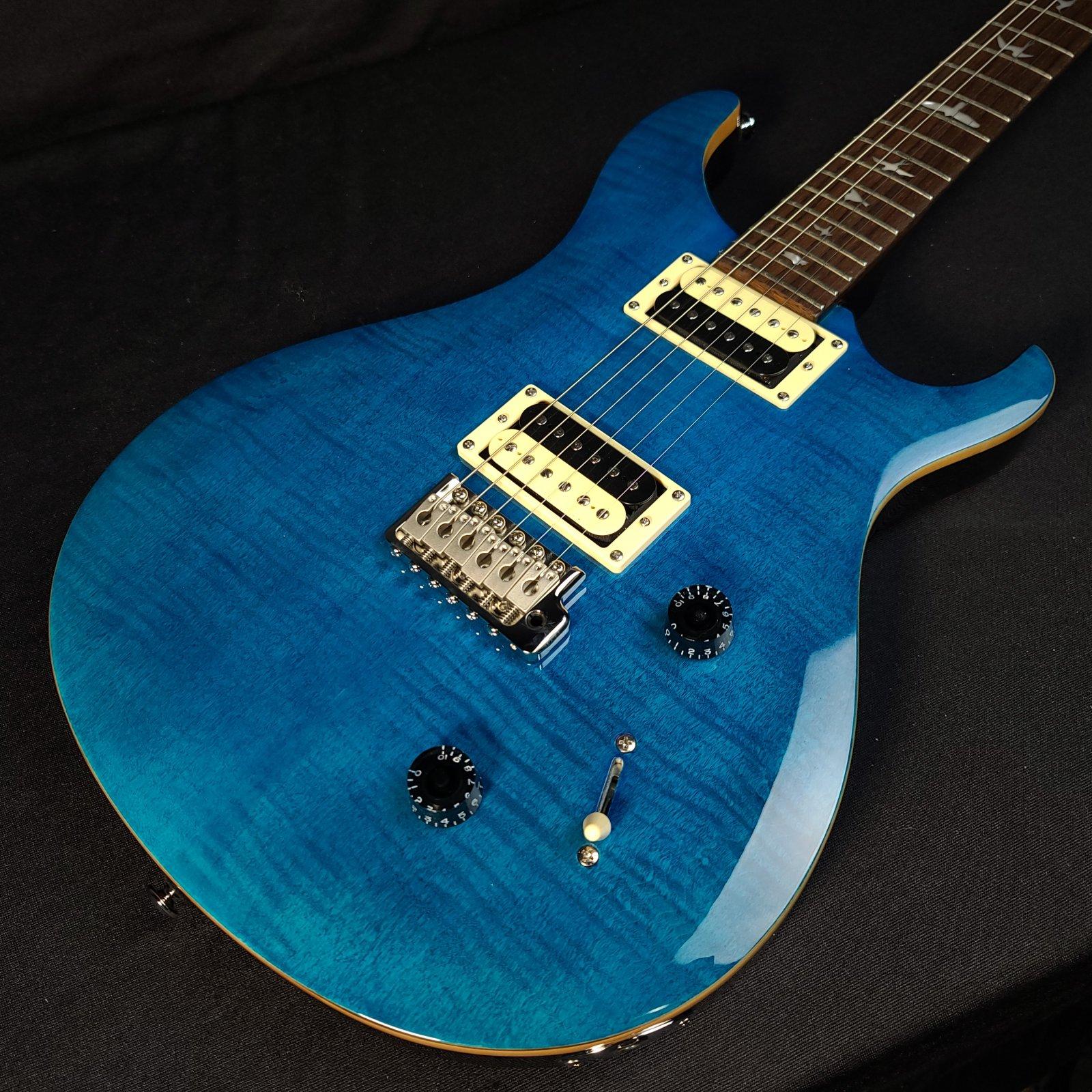 PRS SE Custom 22 Sapphire Blue w/PRS SE Gig Bag