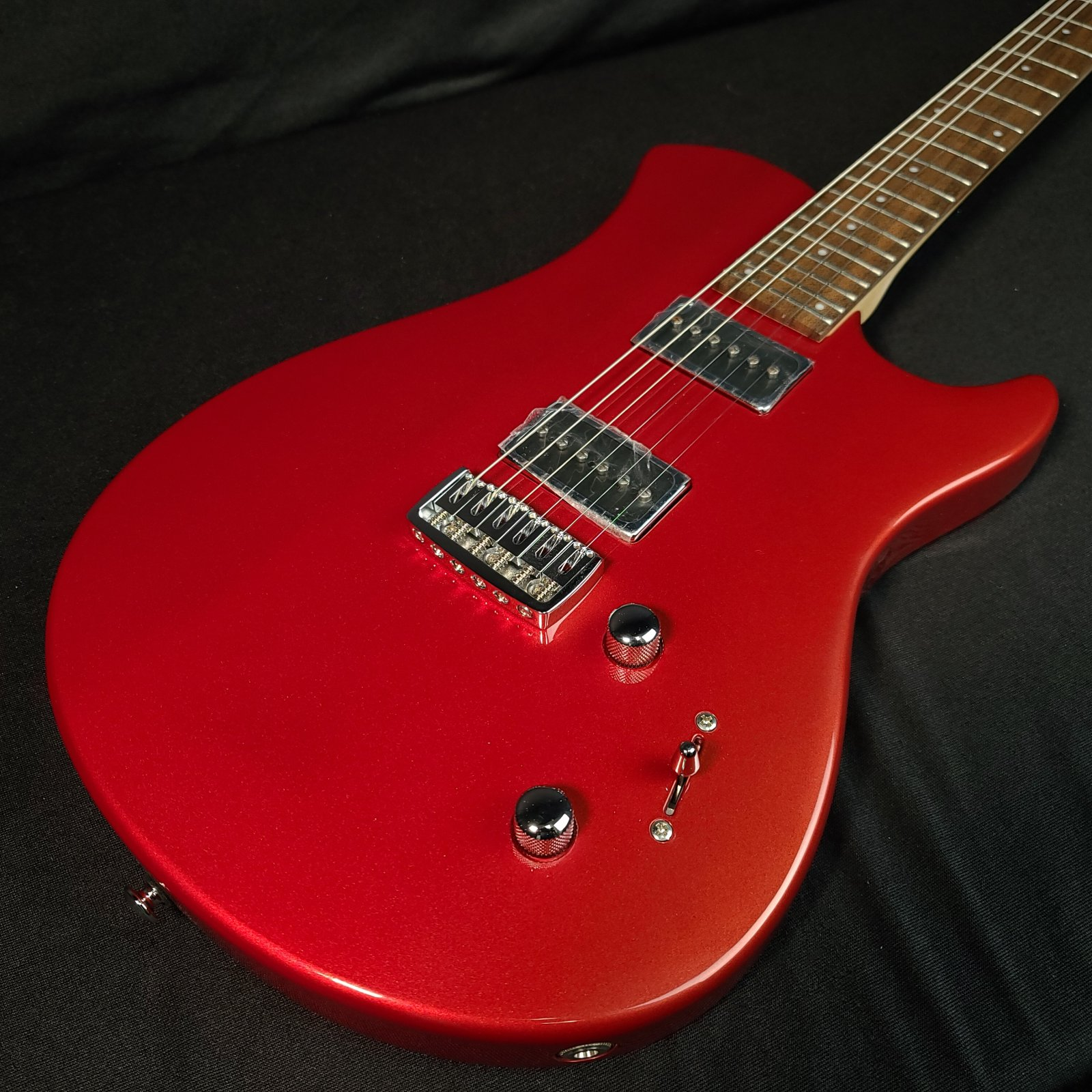 Relish Trinity Electric Guitar Red w/Extra set of P90 Pickups and Gig Bag