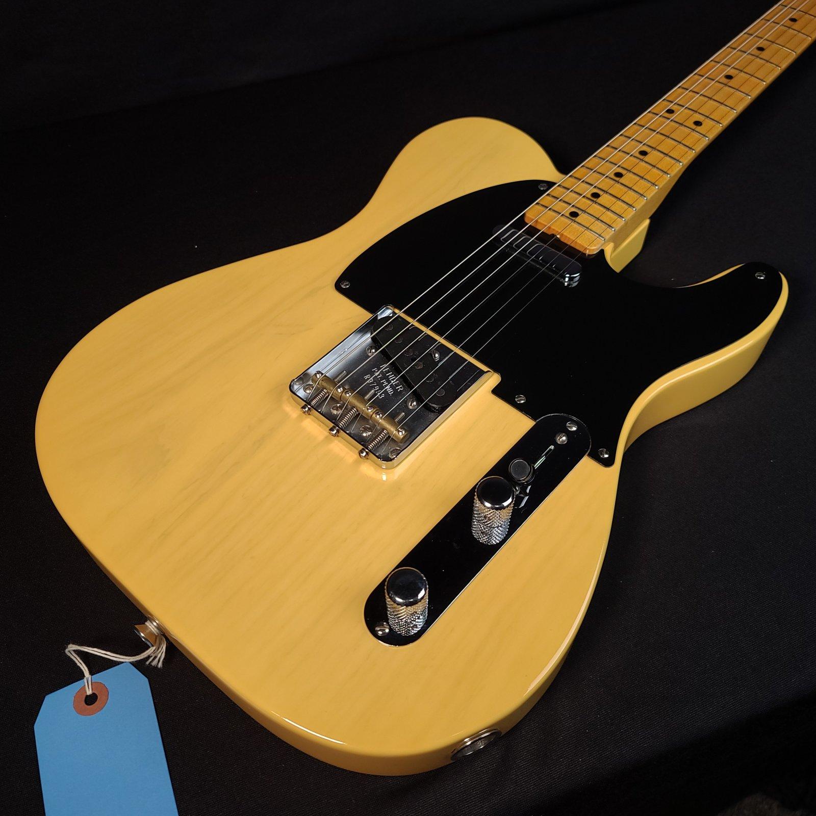 Used Fender Custom Shop Vintage Custom 1950 Double Esquire NOS Maple Fingerboard Nocaster Blonde