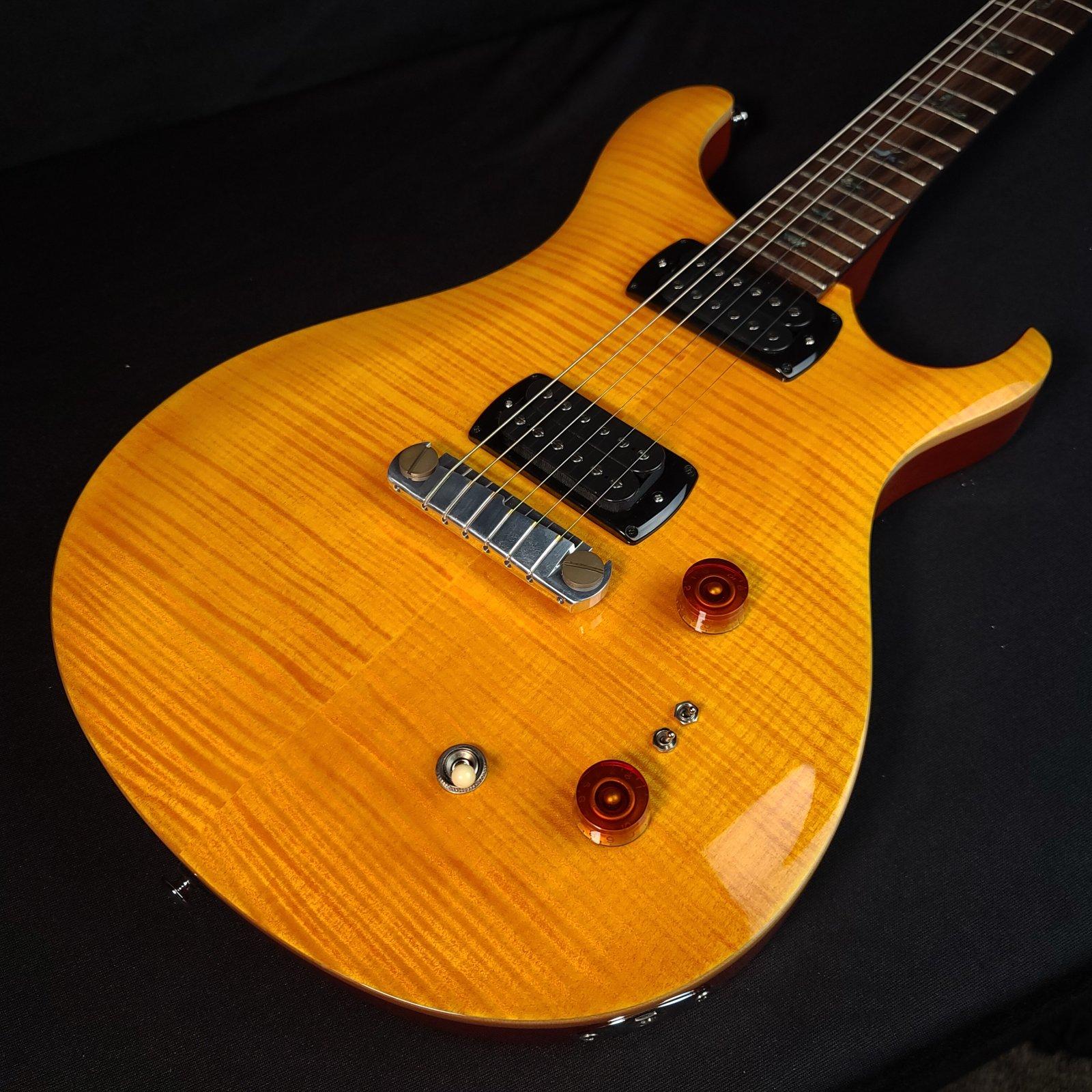 PRS Paul Reed Smith SE Paul's Guitar Amber w/Logo'd Gig Bag