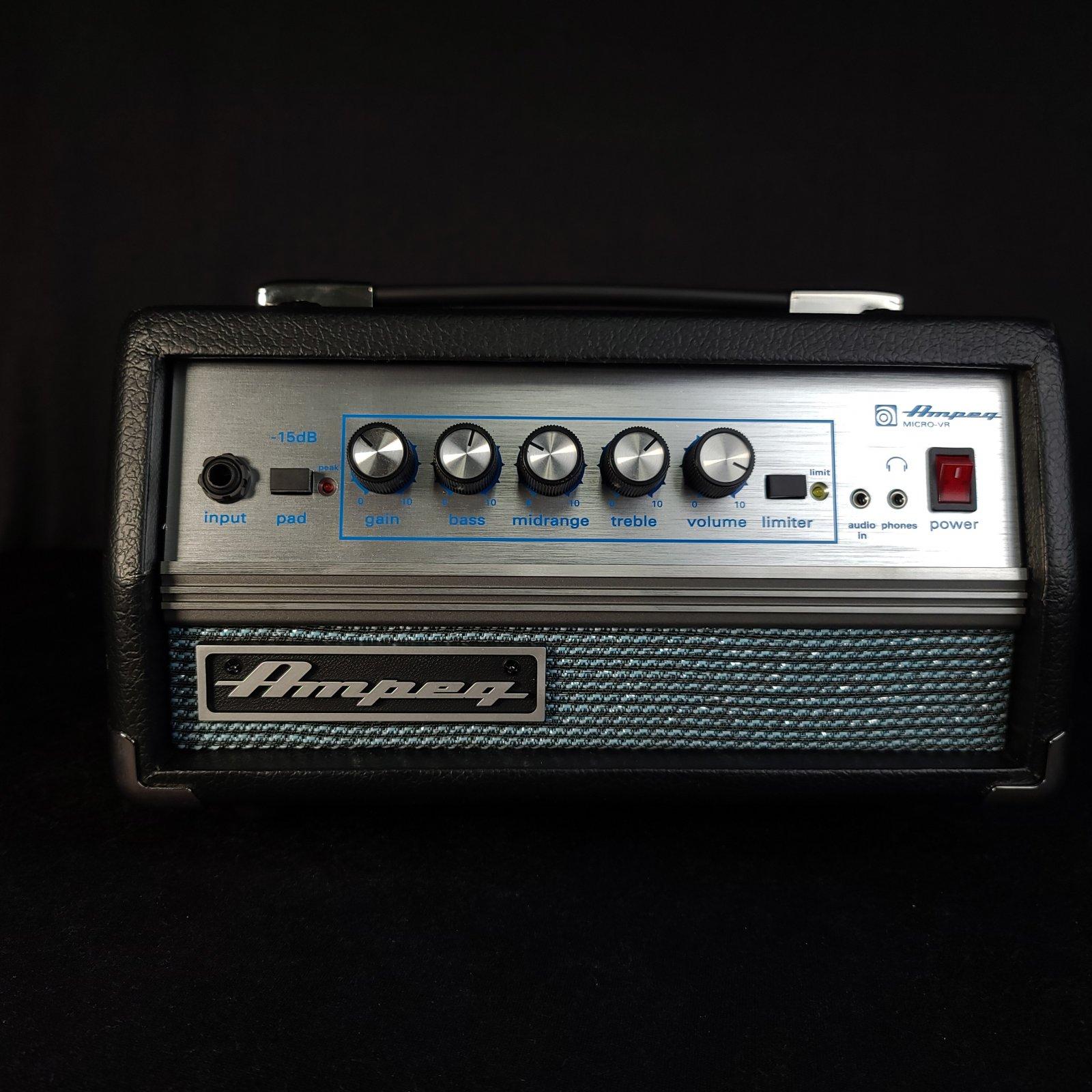 Ampeg Micro VR 200 Watt Bass Amplifier Head