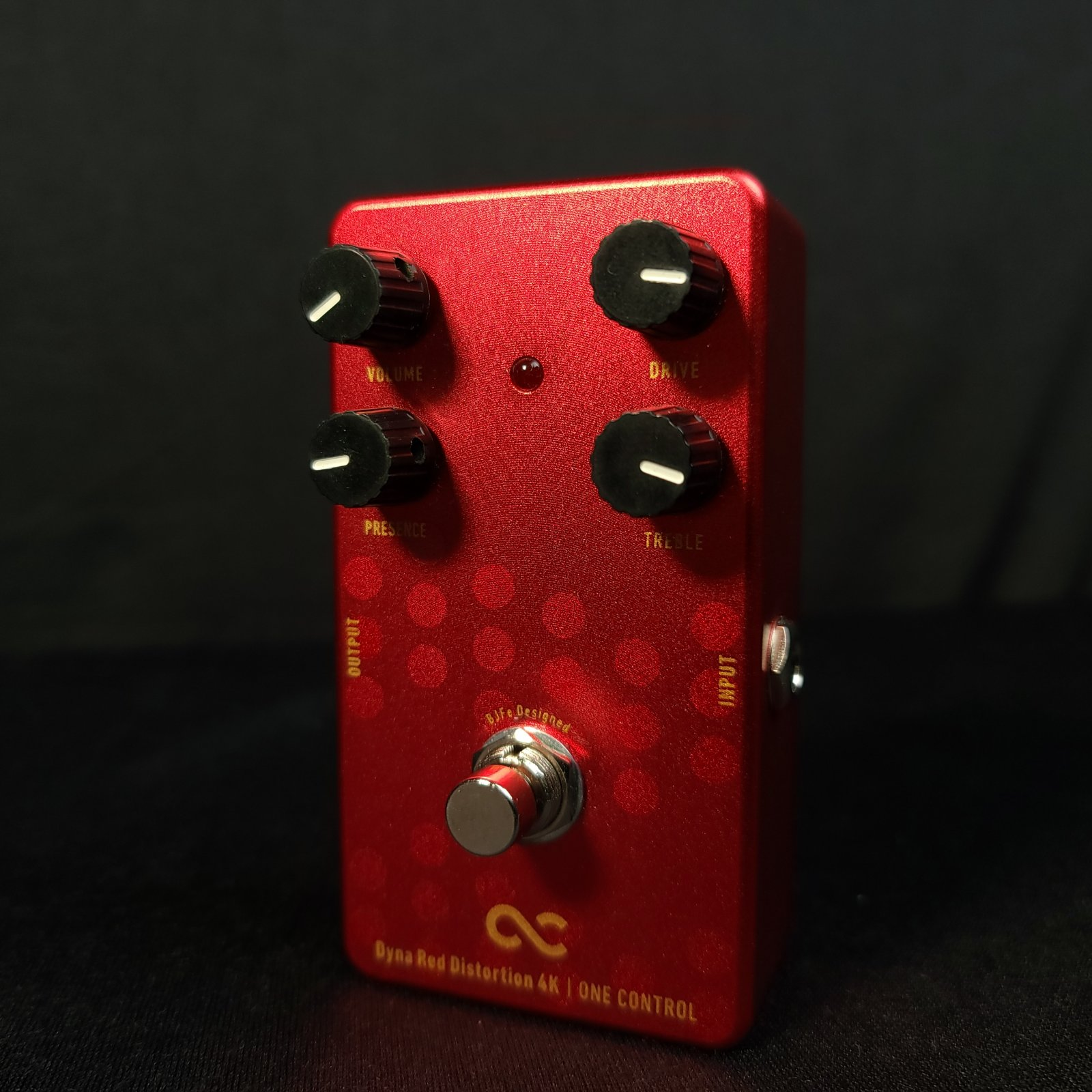 Used One Control Dyna Red Distortion 4k Pedal w/Box