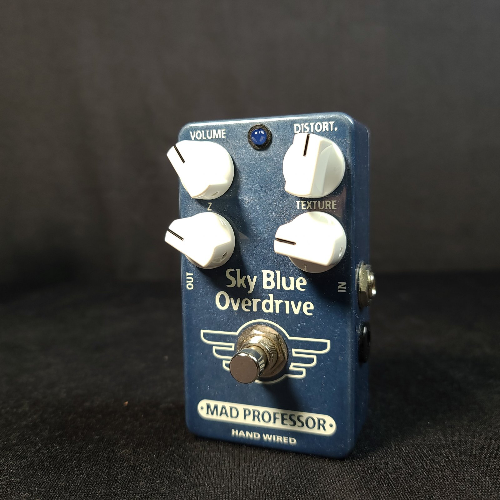 Used Mad Professor Sky Blue Overdrive Hand Wired Pedal w/Box