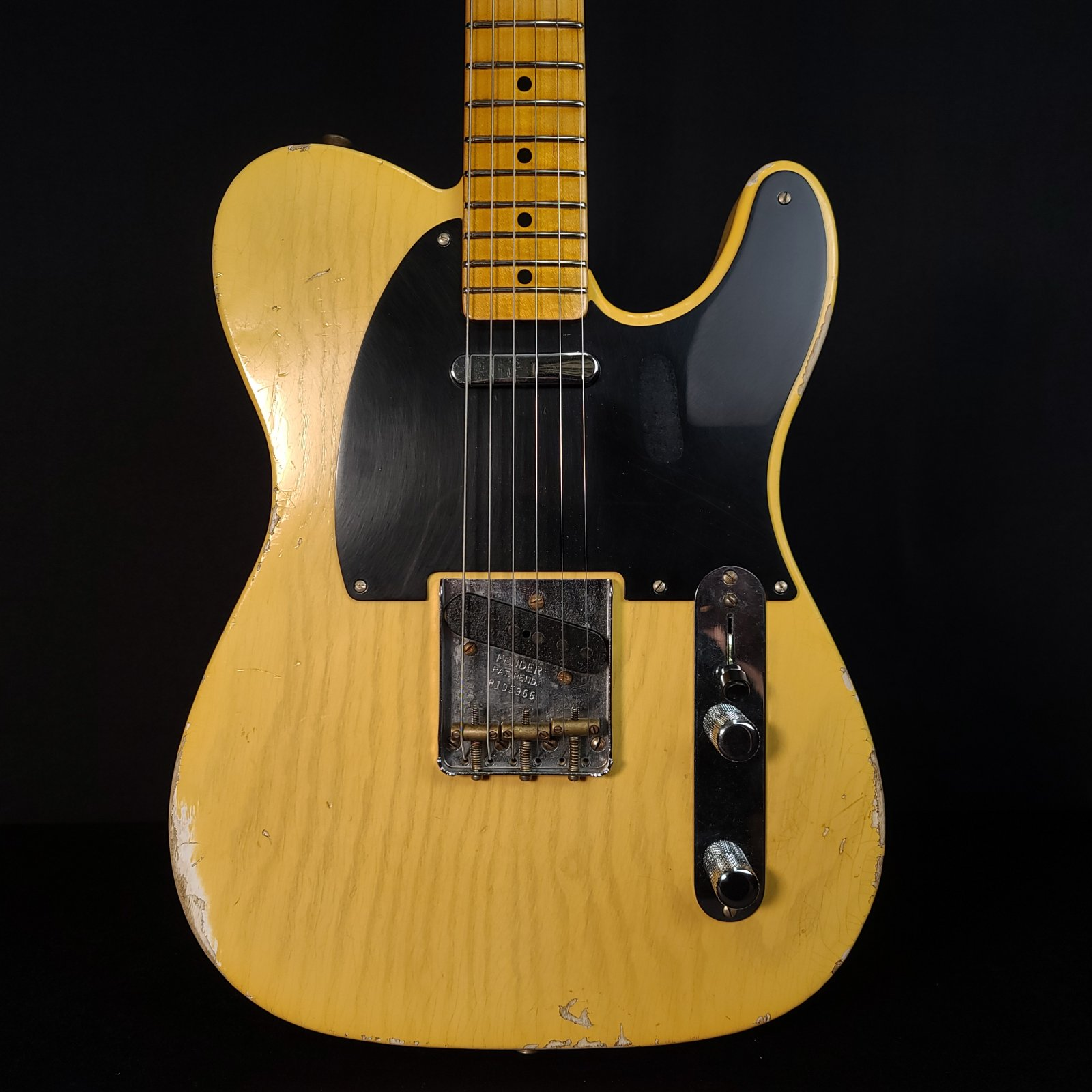 Used Fender Custom Shop Limited Edition 70th Anniversary Broadcaster Aged Relic