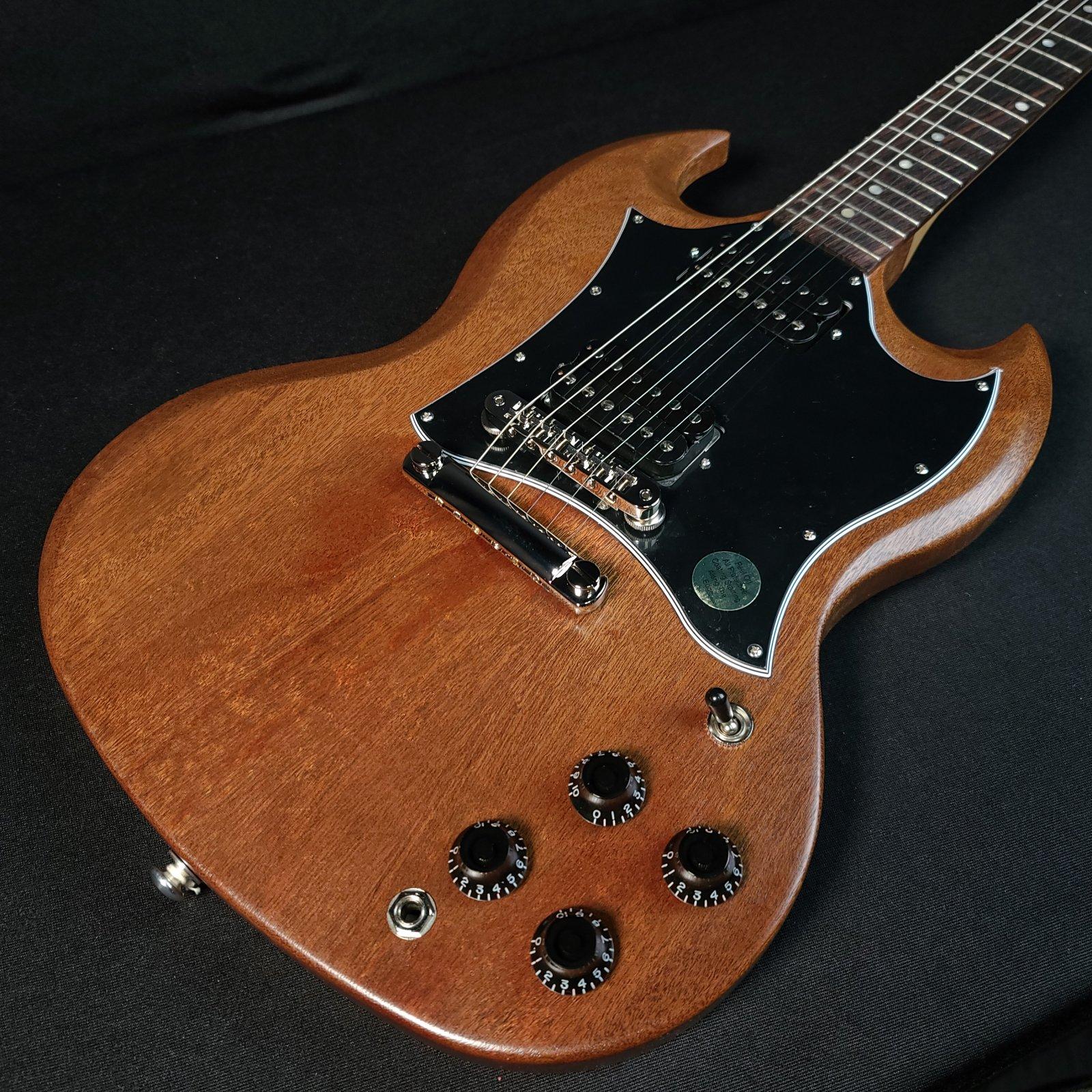 Gibson SG Tribute Satin Walnut Vintage w/Soft Case