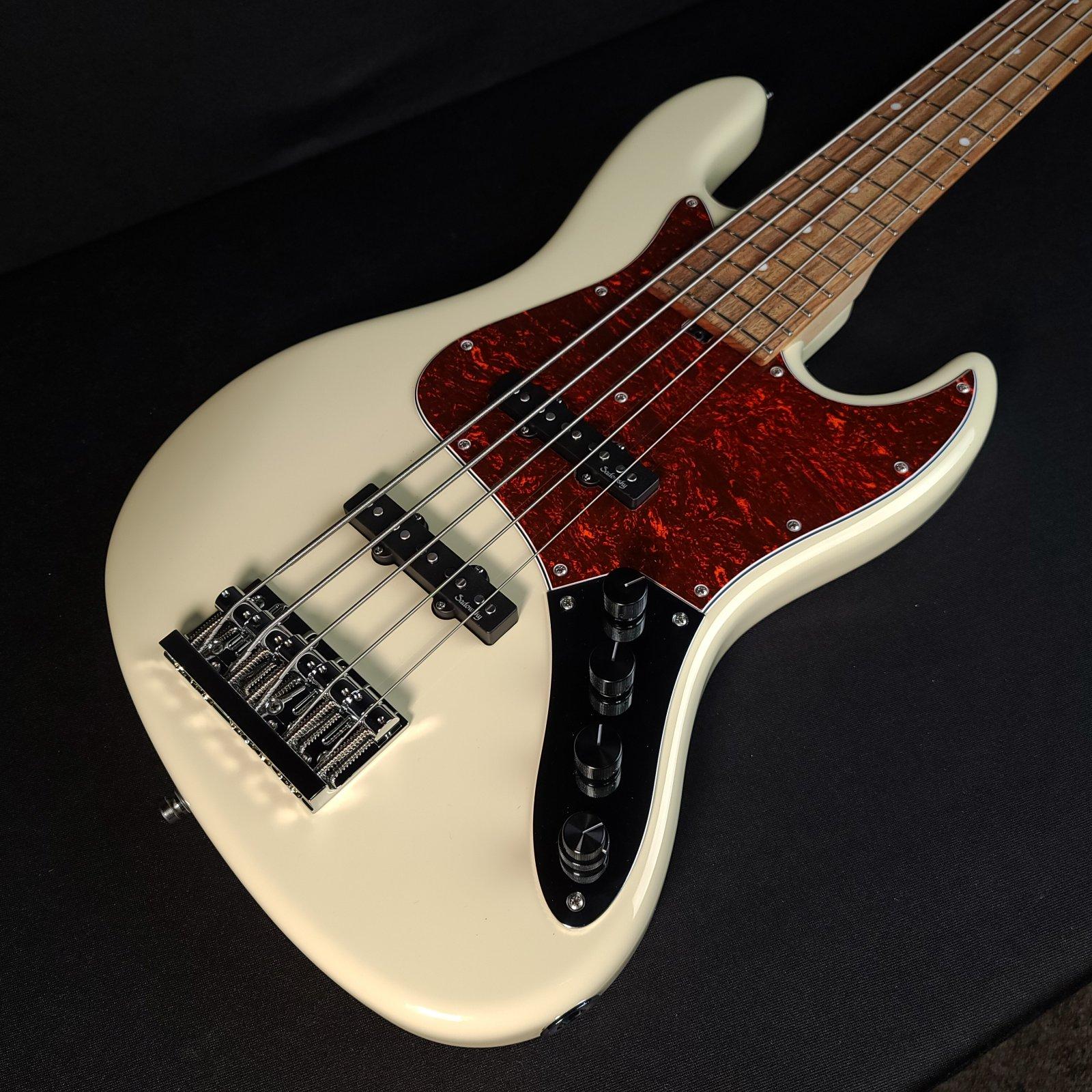 Sadowsky MetroLine 21 fret Vintage J/J Bass Olympic White