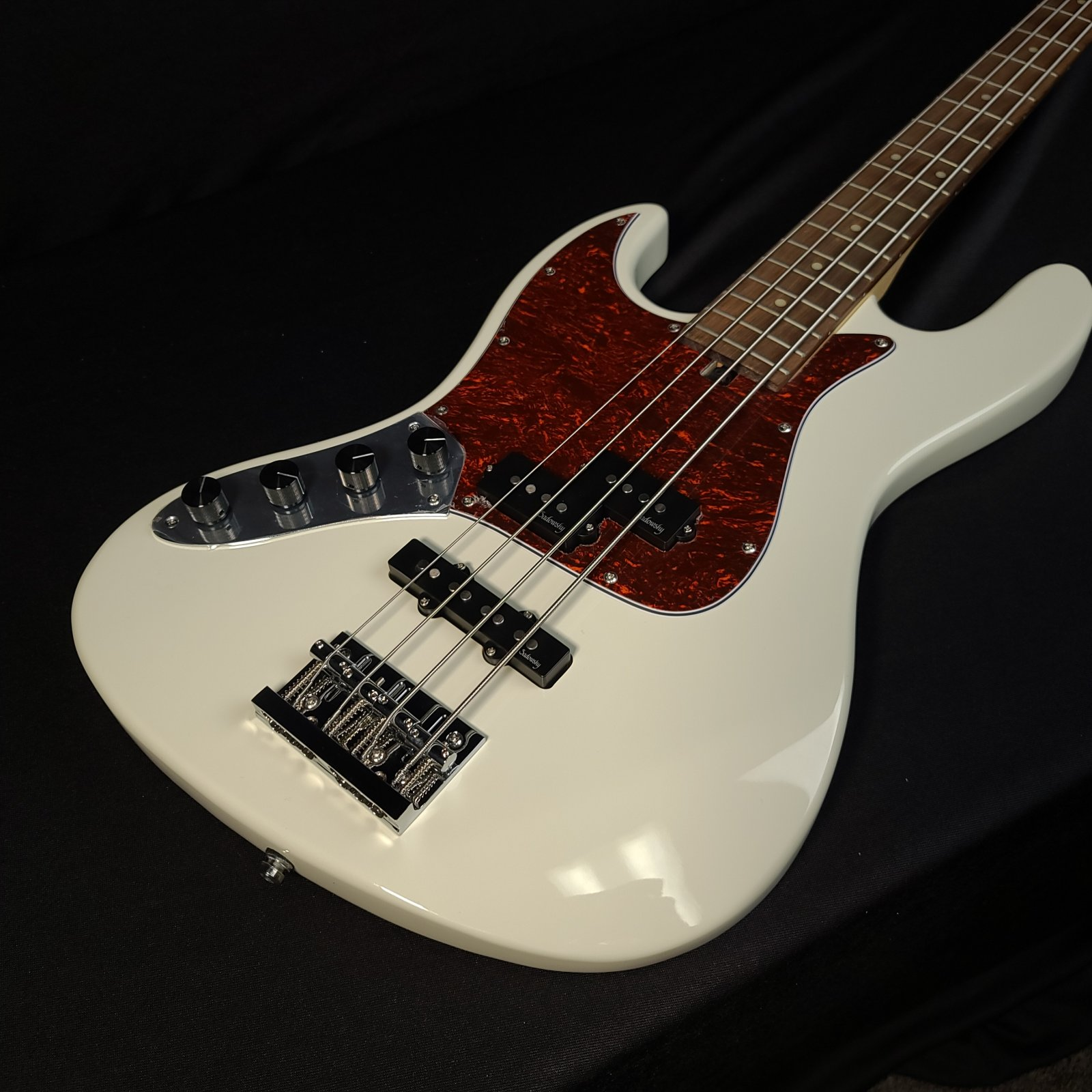 Sadowsky MetroExpress 21 Fret Lefty PJ 4 String Olympic White Bass with Bag