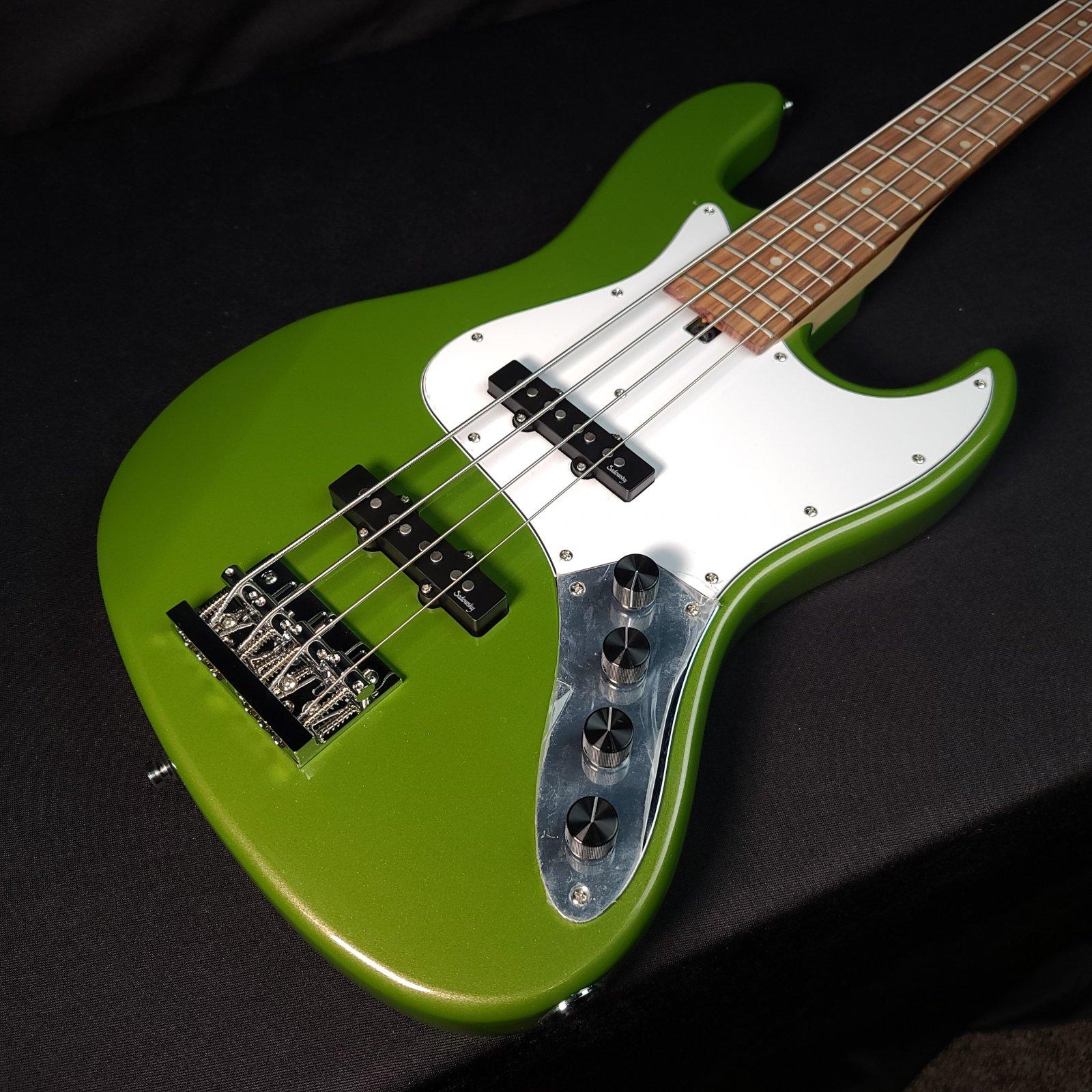 Sadowsky MetroExpress 21 Fret JJ 4 String Sage Green Metallic Bass with Bag