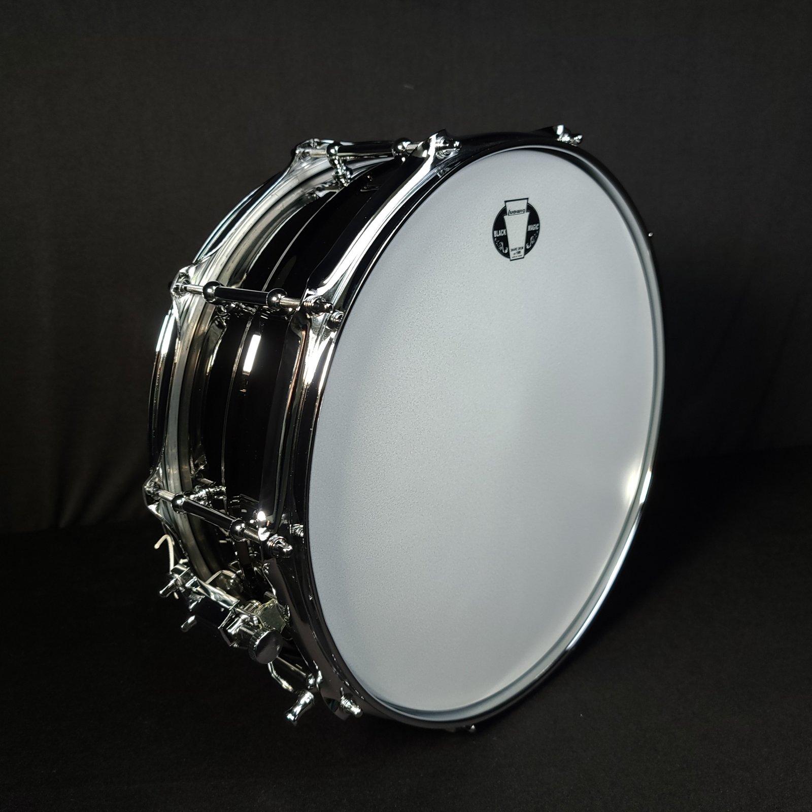LUDWIG LW-5514C 5x14 Black Magic Snare Drum