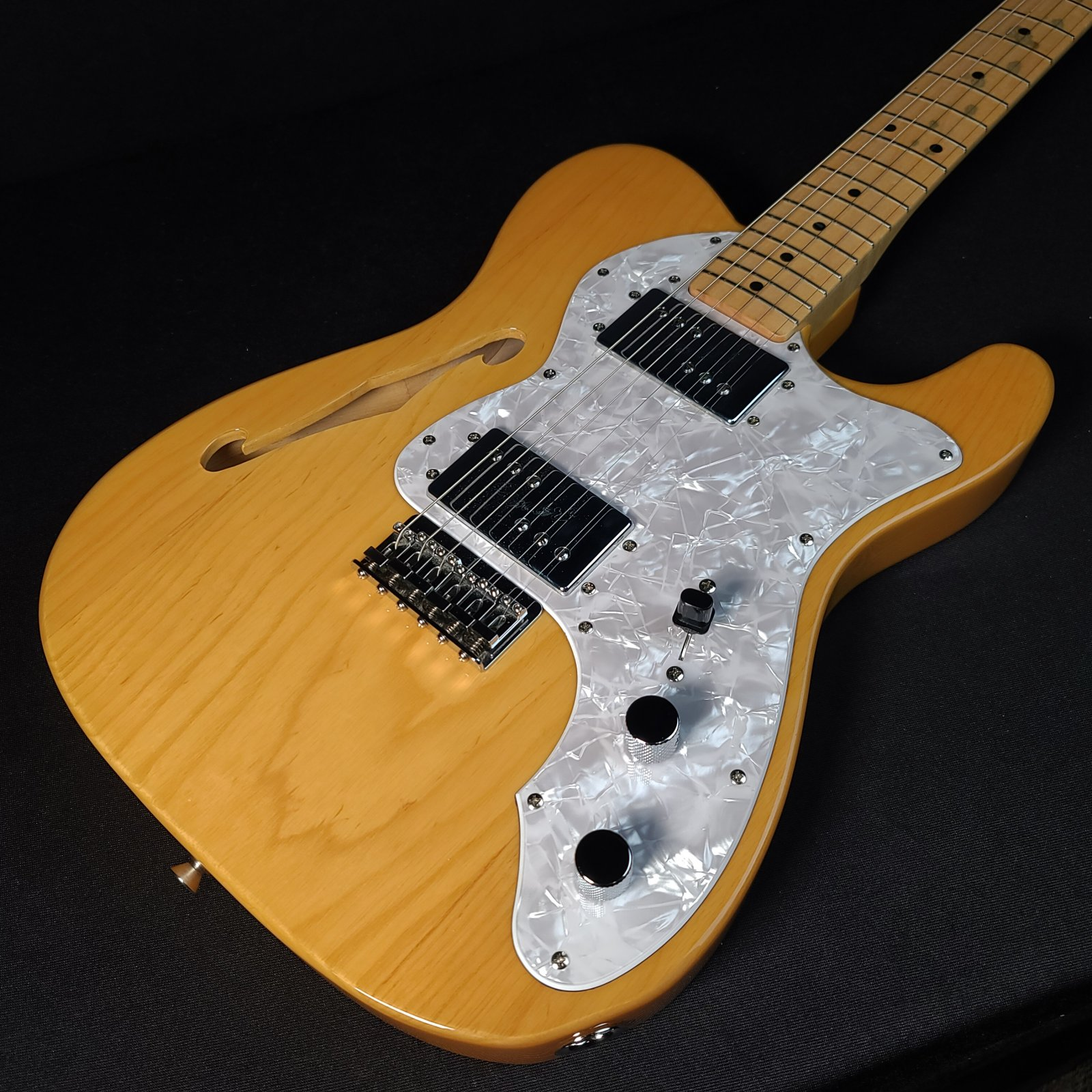 Used Fender Telecaster Thinline Natural Japan with Gig Bag
