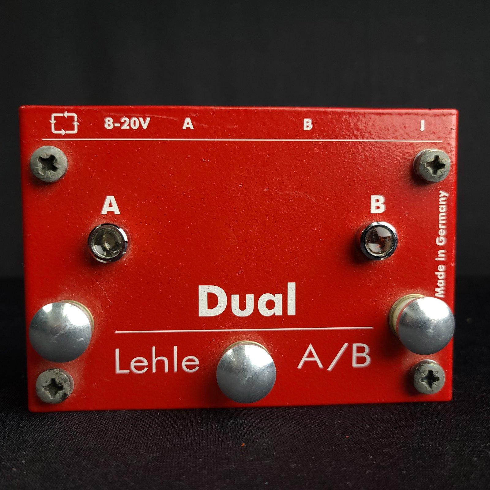 Used Lehle Dual A/B Switch Box