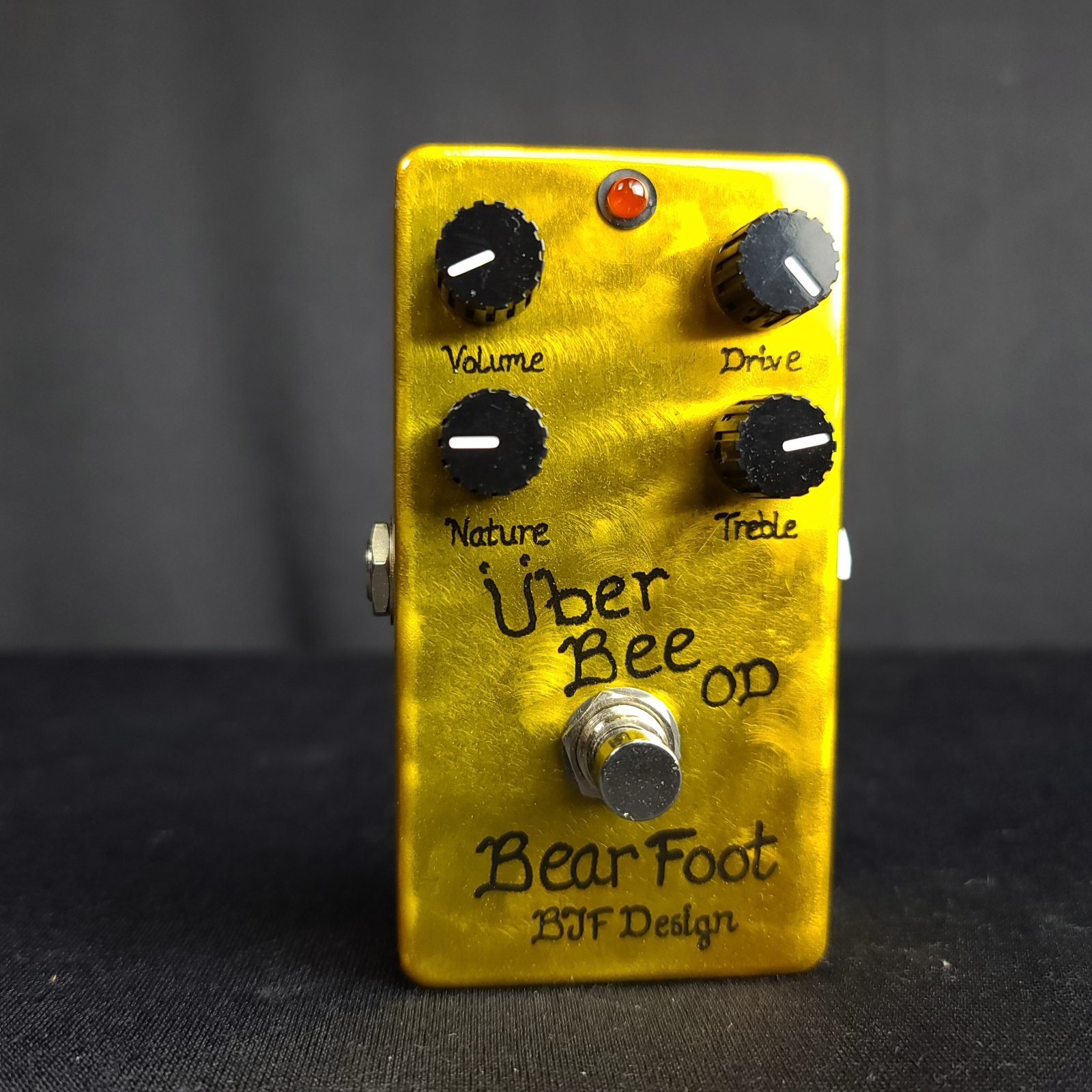 Used BearFoot Uber Bee OD Overdrive BJF Design Overdrive Pedal