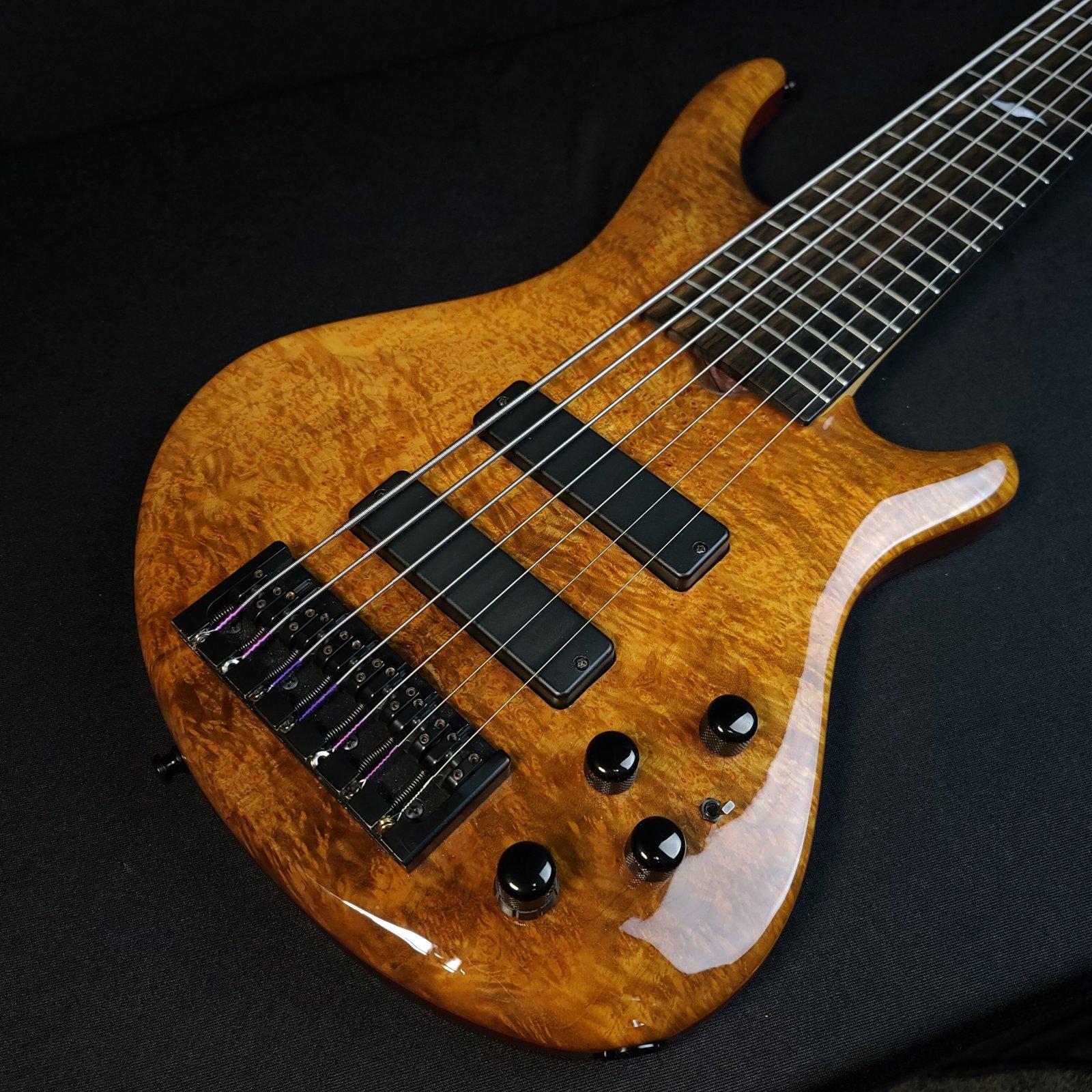 Used Roscoe SKB3007 SKB 3007 7 String Bass w/ Hard Case 35 Scale Length