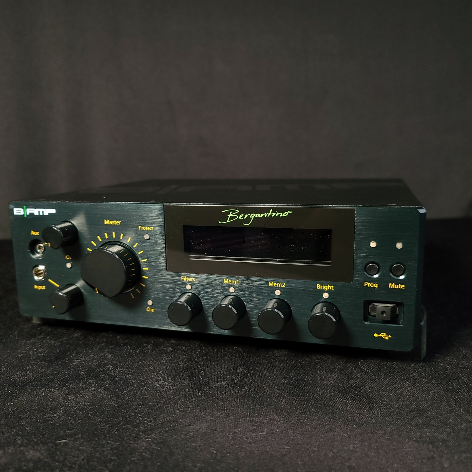 Bergantino B-Amp 700 Watt Digital Bass Amplifier Updated Display Screen 2021