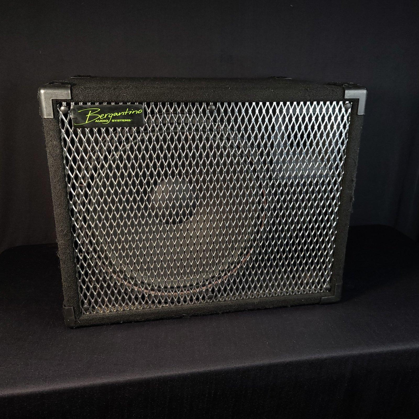 Used Bergantino HT115 1 x 15 Bass Cabinet