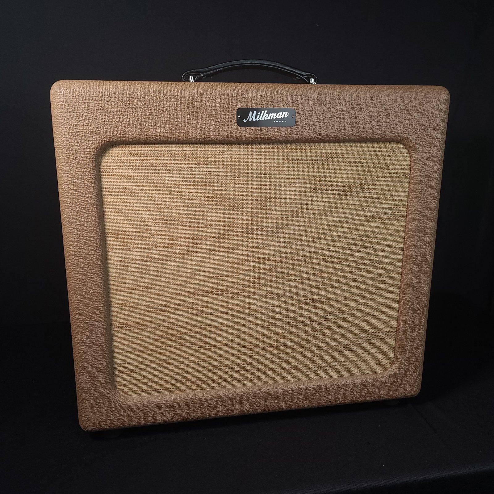 USED Milkman TV 40 Watt Jupiter Speaker Amplifier w/Cover