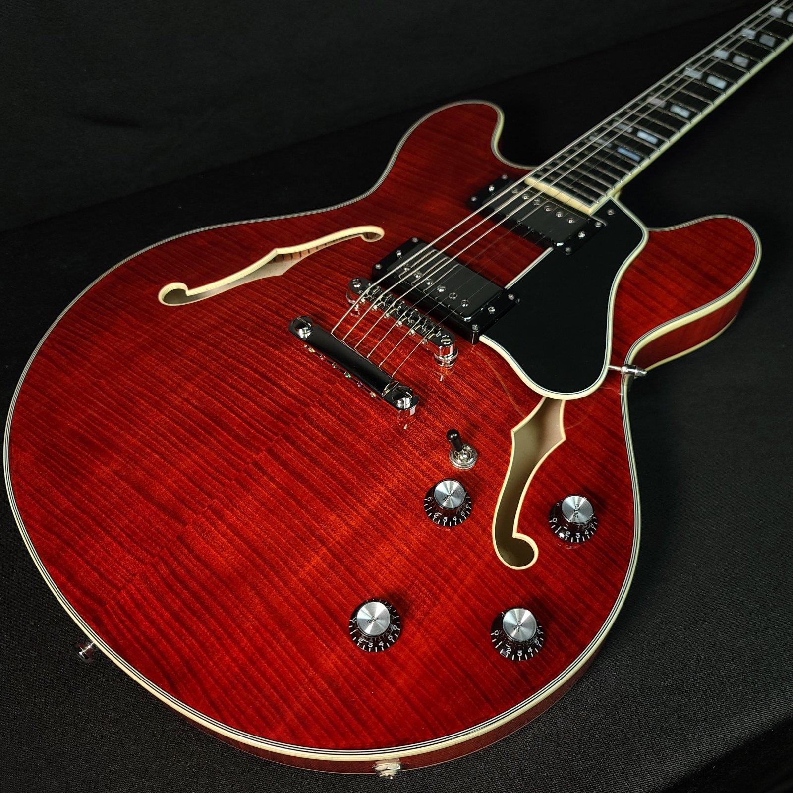 Eastman T486 #0431 Classic Finish Semi Hollow Electric Guitar, Hard Case