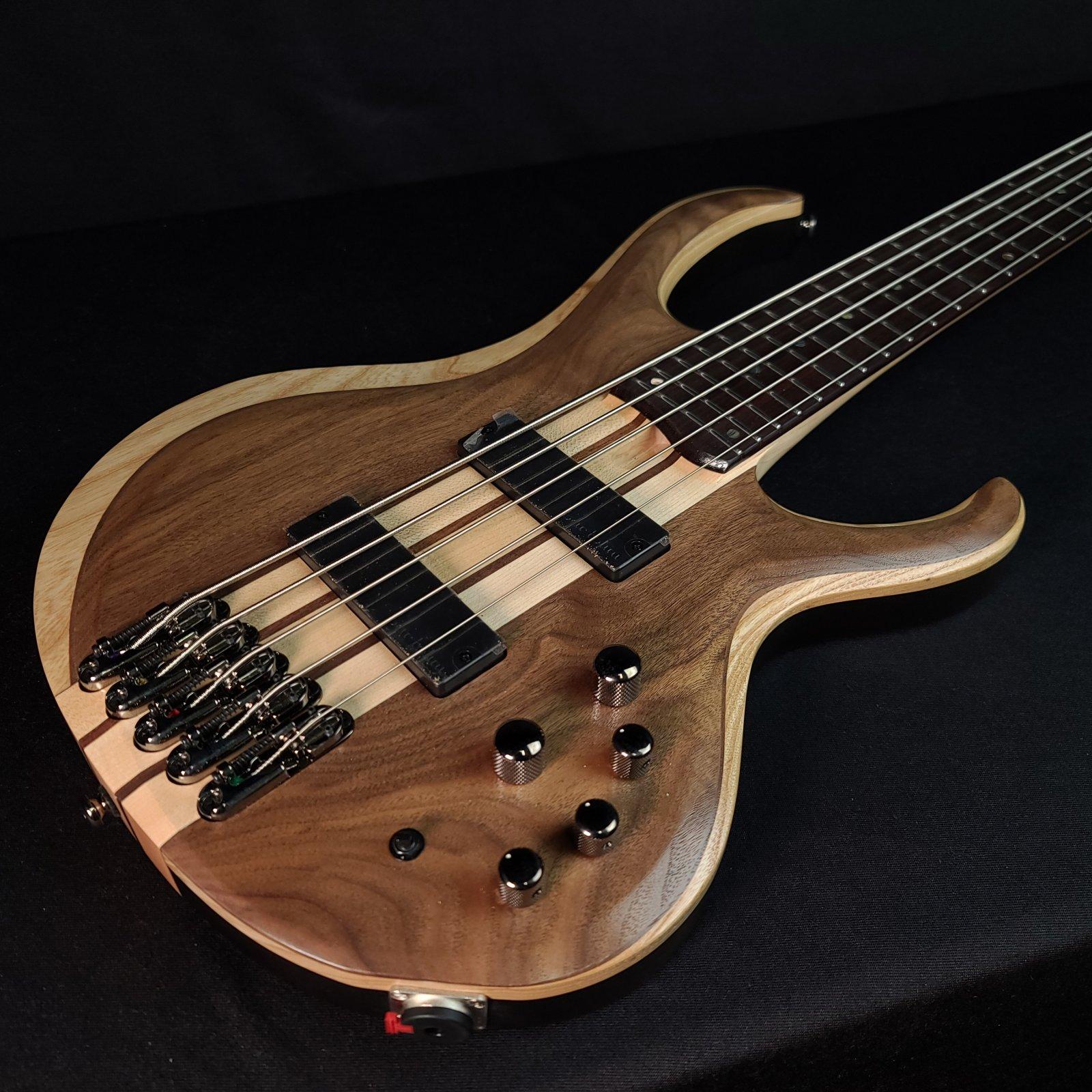 Ibanez BTB745-NTL 5-String Bass Natural Low Gloss