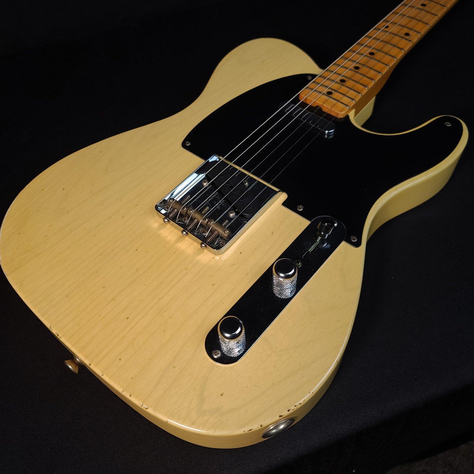 Used Fender Custom Shop 4/54 Blackguard Telecaster Blonde Willcutt Limited Nocaster U