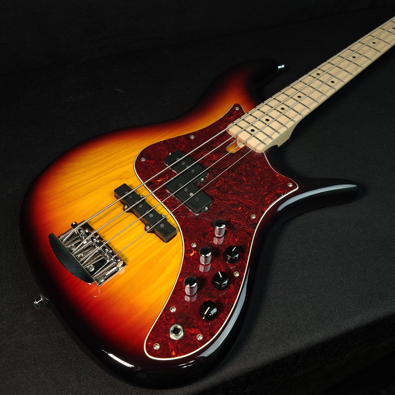 F Bass VF4-PJ 4 String Bass 2-Piece Ash Body w/ Gig Bag