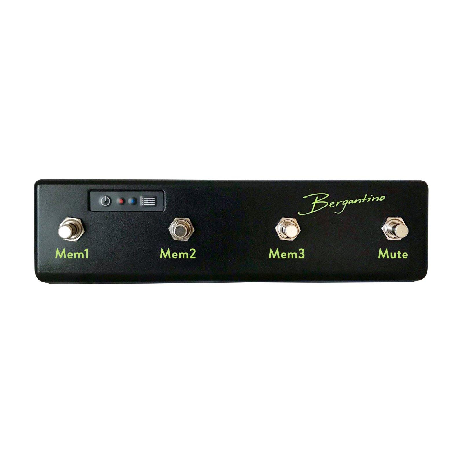 Bergantino Bluetooth B-Amp 4 button footswitch