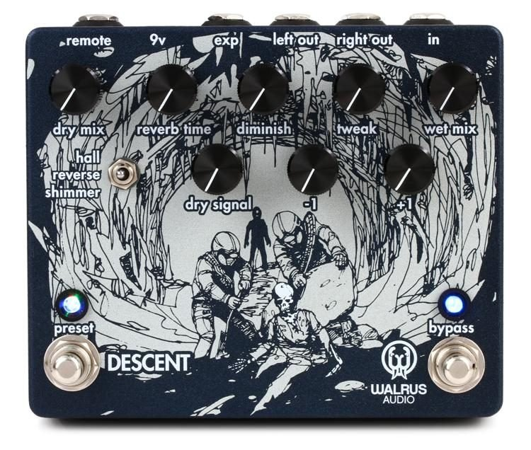 Walrus Audio Descent Reverb/Octave Machine Pedal
