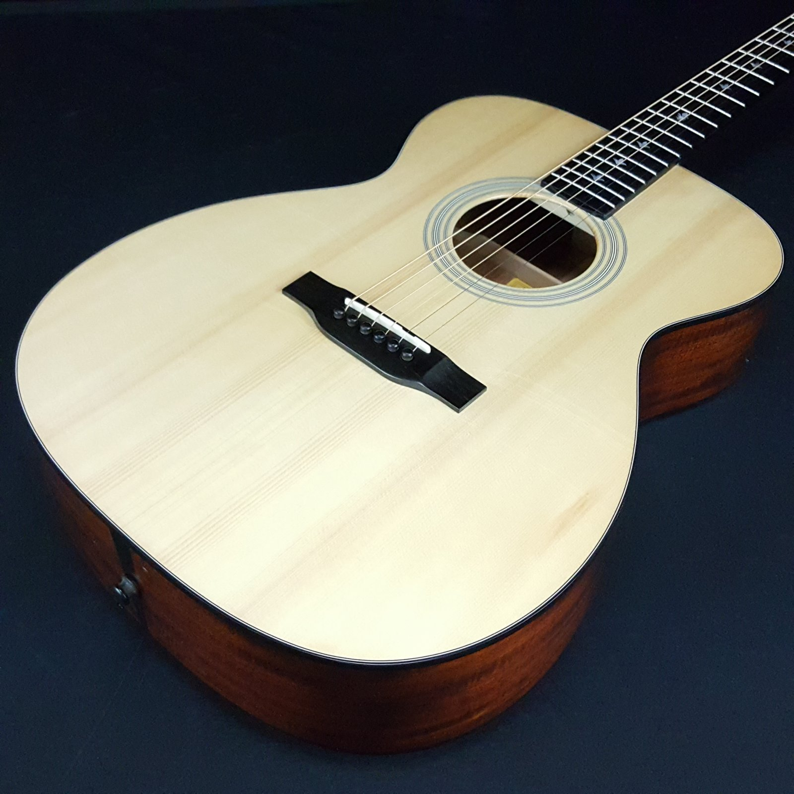 Used Eastman E10OM-LTD Limited Edition Acoustic Guitar With Case