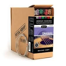 D'Addario EXP26 25 Sets Coated Phosphor Bronze Bulk pack