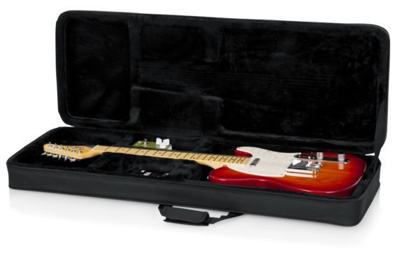 Gator GL Electric Guitar Polyfoam Lightweight Hard Case