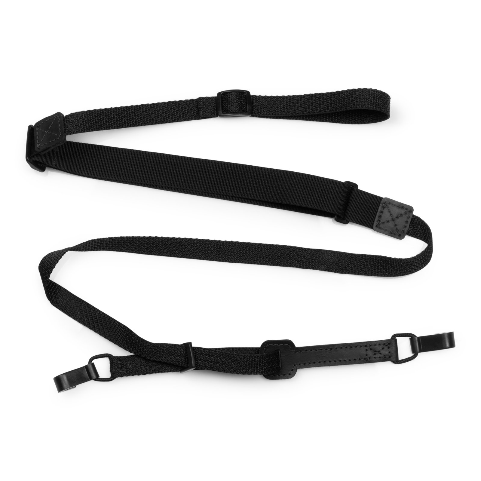 Levy's Ukulele Double Hook Strap M19HOK-BLK
