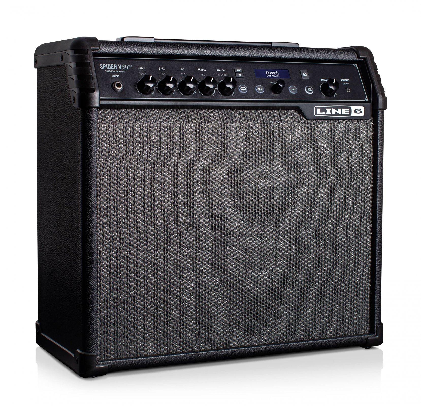 Line 6 Spider V60 MKII 60 Watt Electric Guitar Amplifier