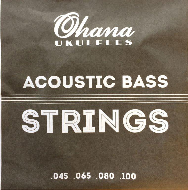 Ohana OBU-RWS Acoustic Bass Strings for OBU-22