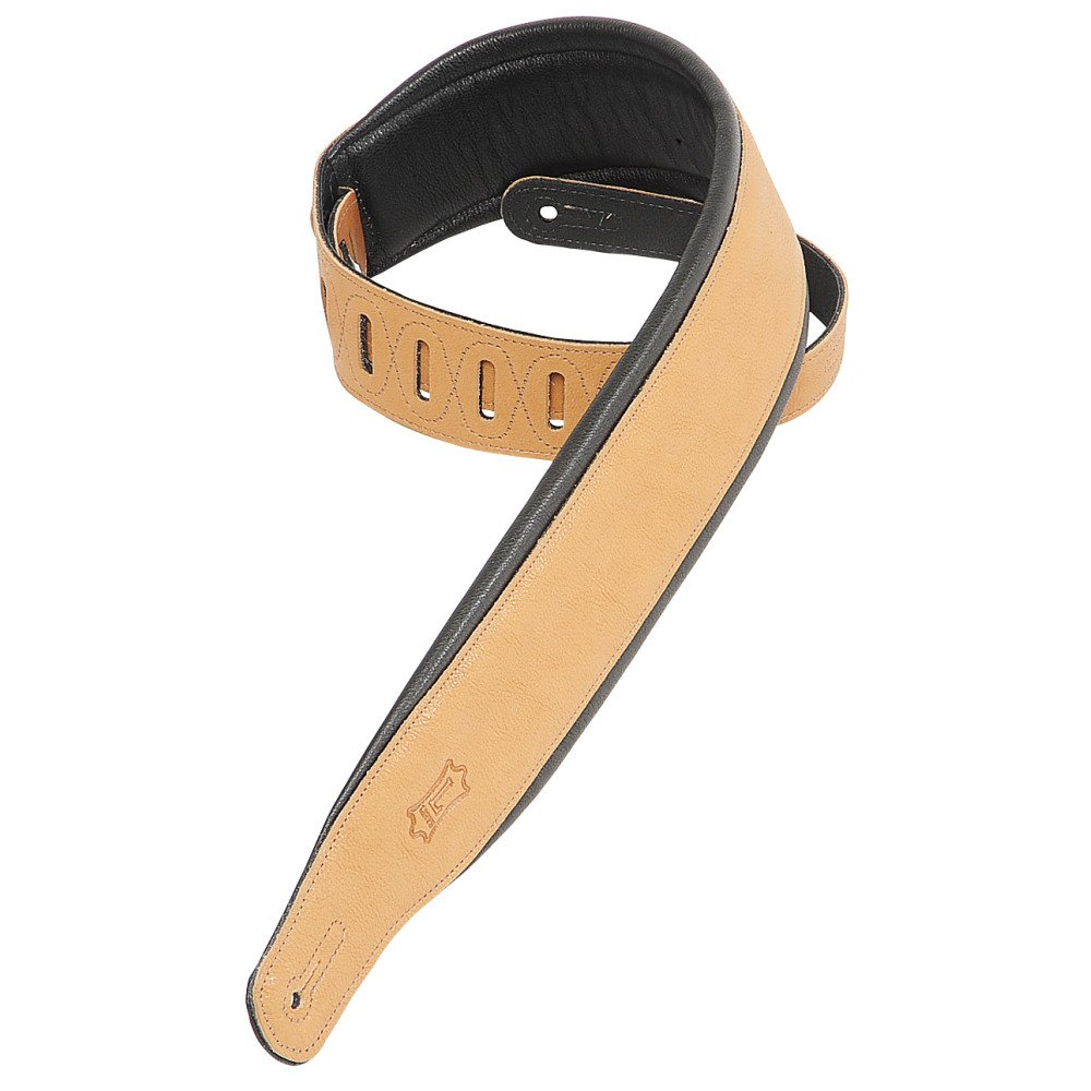 Levy's  PM32-Tan Leather Guitar Strap
