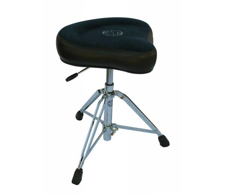 Roc-N-Soc Nitro Hydraulic Saddle Seat Drum Throne Black