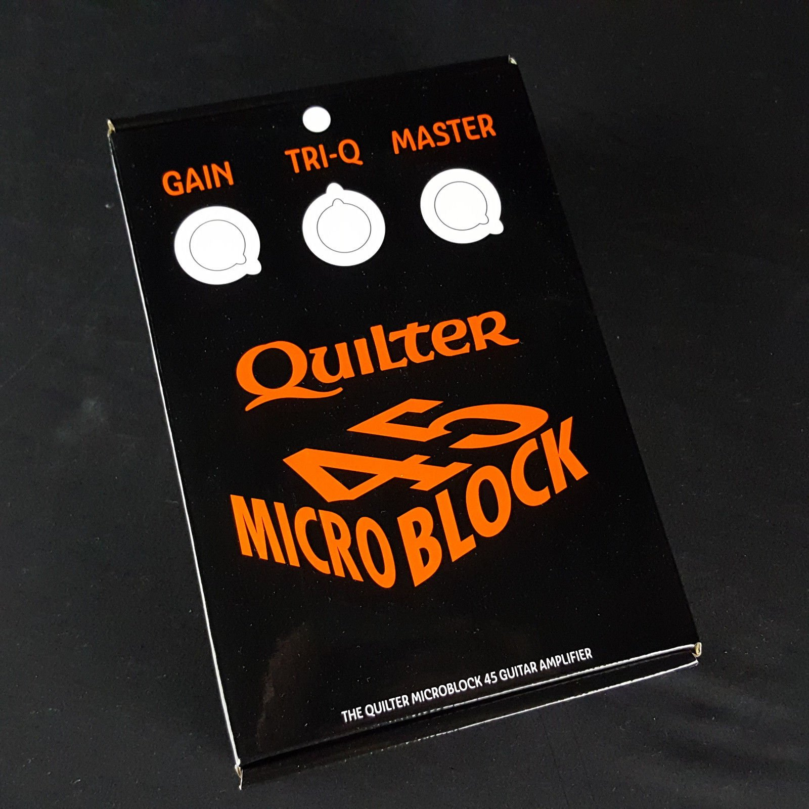 Quilter Micro Block 45 Mini Amplifier Pedal Sized Amp