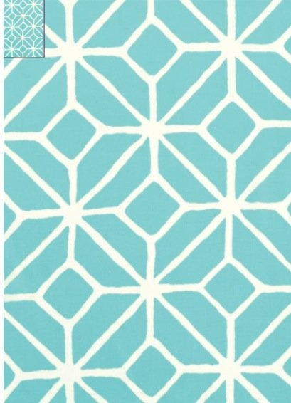 Amazing Trina Turk Trellis Print Pool Fretwork Sunbrella Acrylic Outdoor Fabric SL024