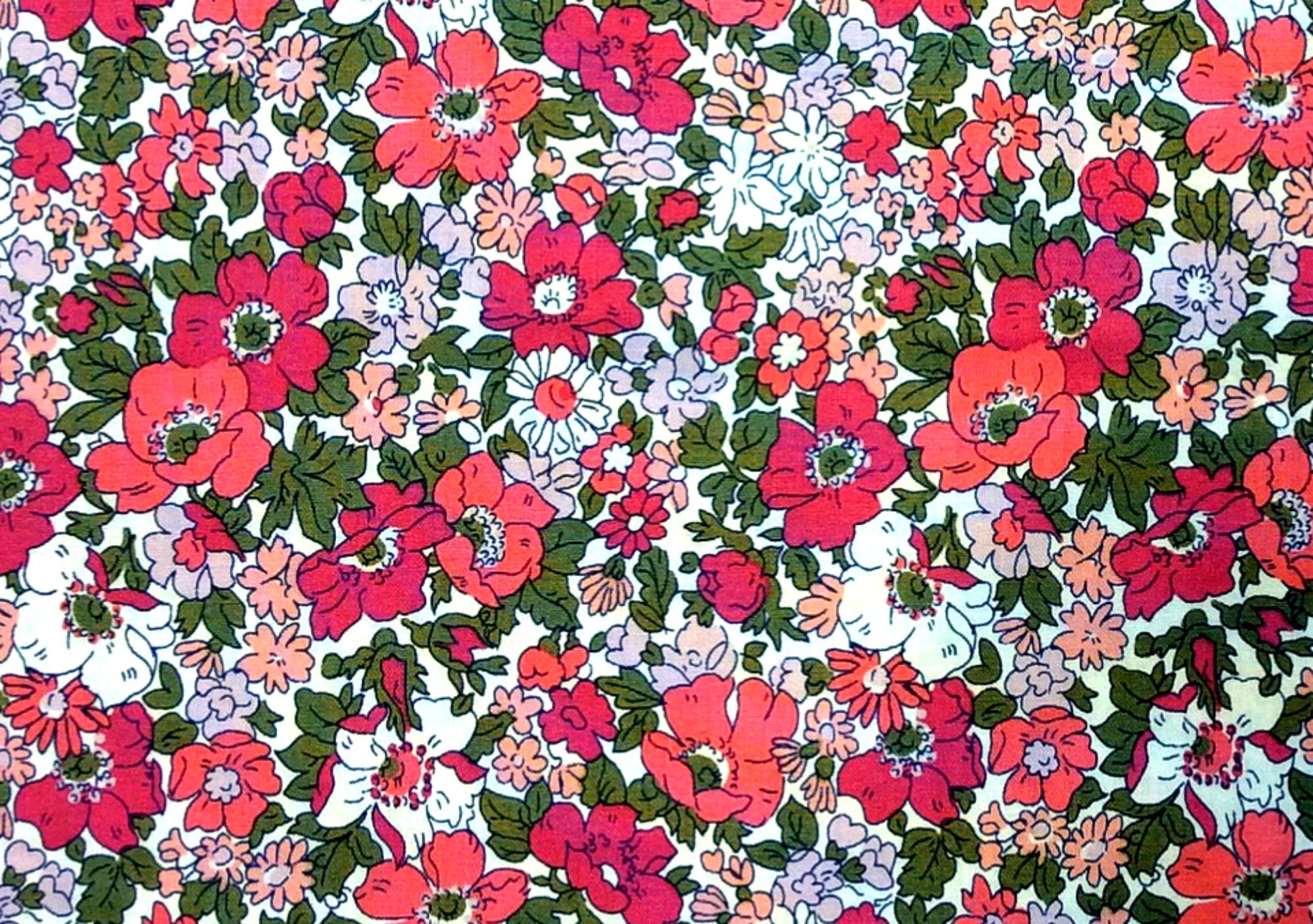 Liberty of London Cosmos Meadow Cotton Quilt Fabric SK48