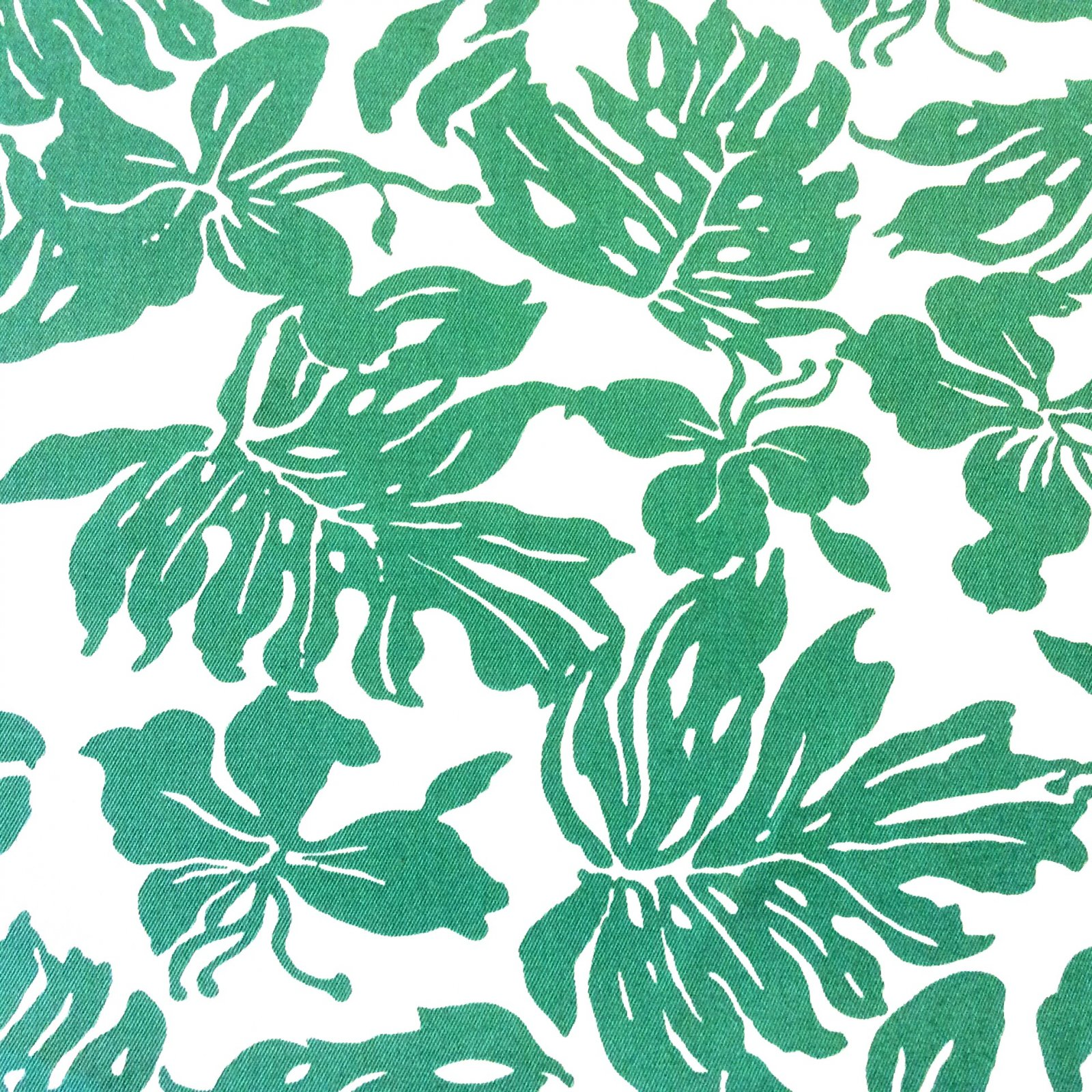Floral Large Scale Famous Maker Acrylic Outdoor Fabric Green Graphic