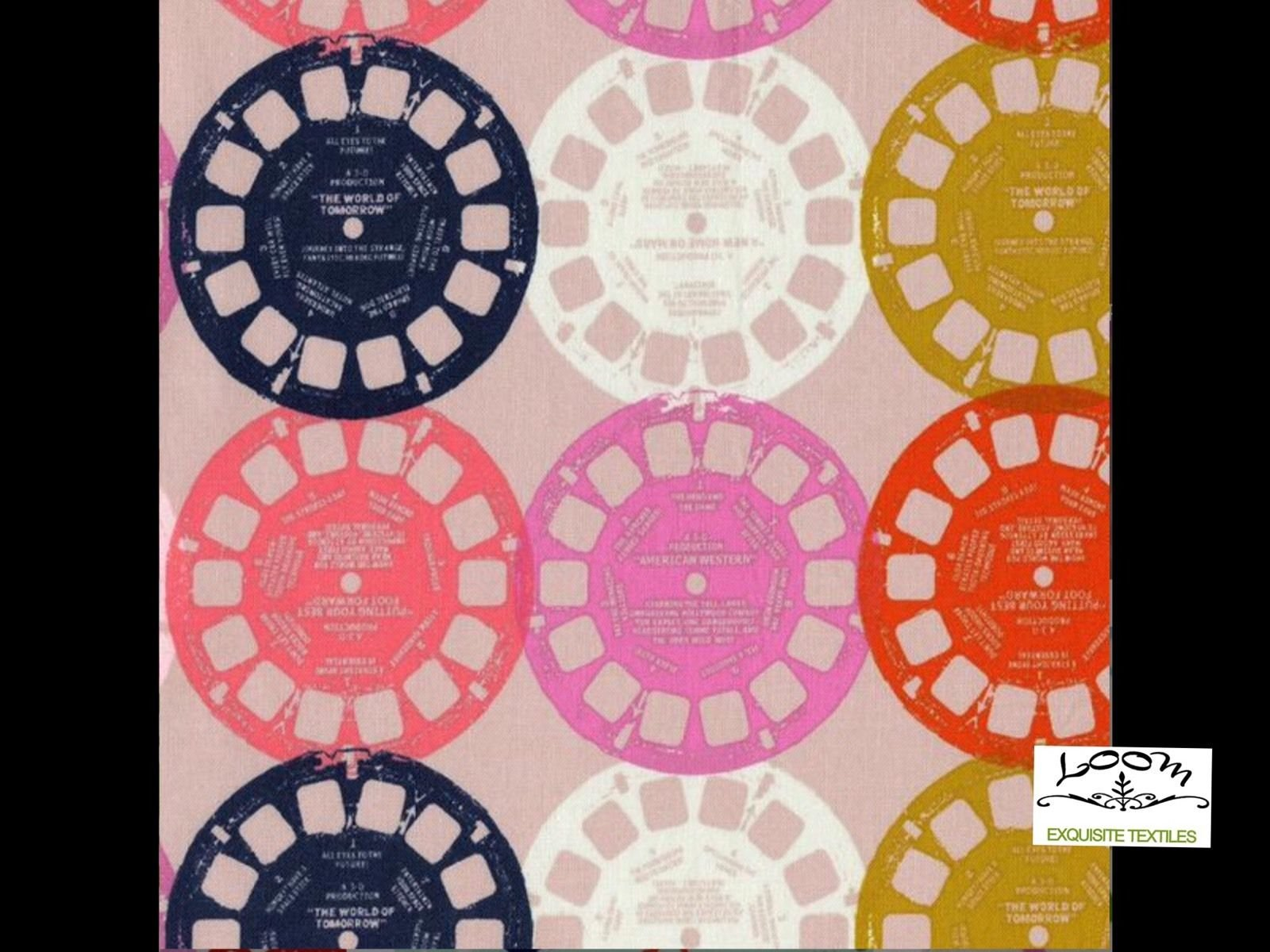 Cotton + Steel Miller Retro View Master Mod Playful Cotton Quilting Fabric ctn20