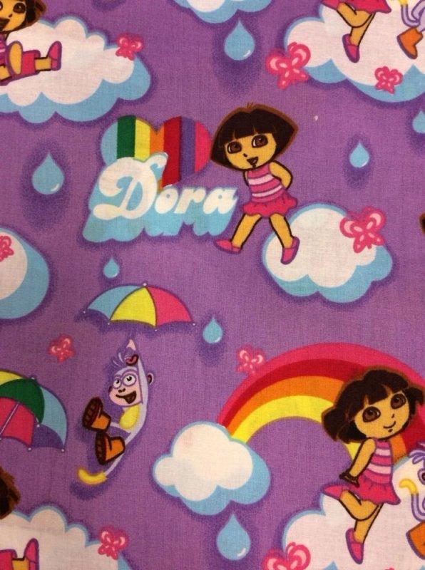 Dora The Explorer Boots Children Tv Cartoons Cotton Fabric Quilt Fabric AC067 AB082 FF120